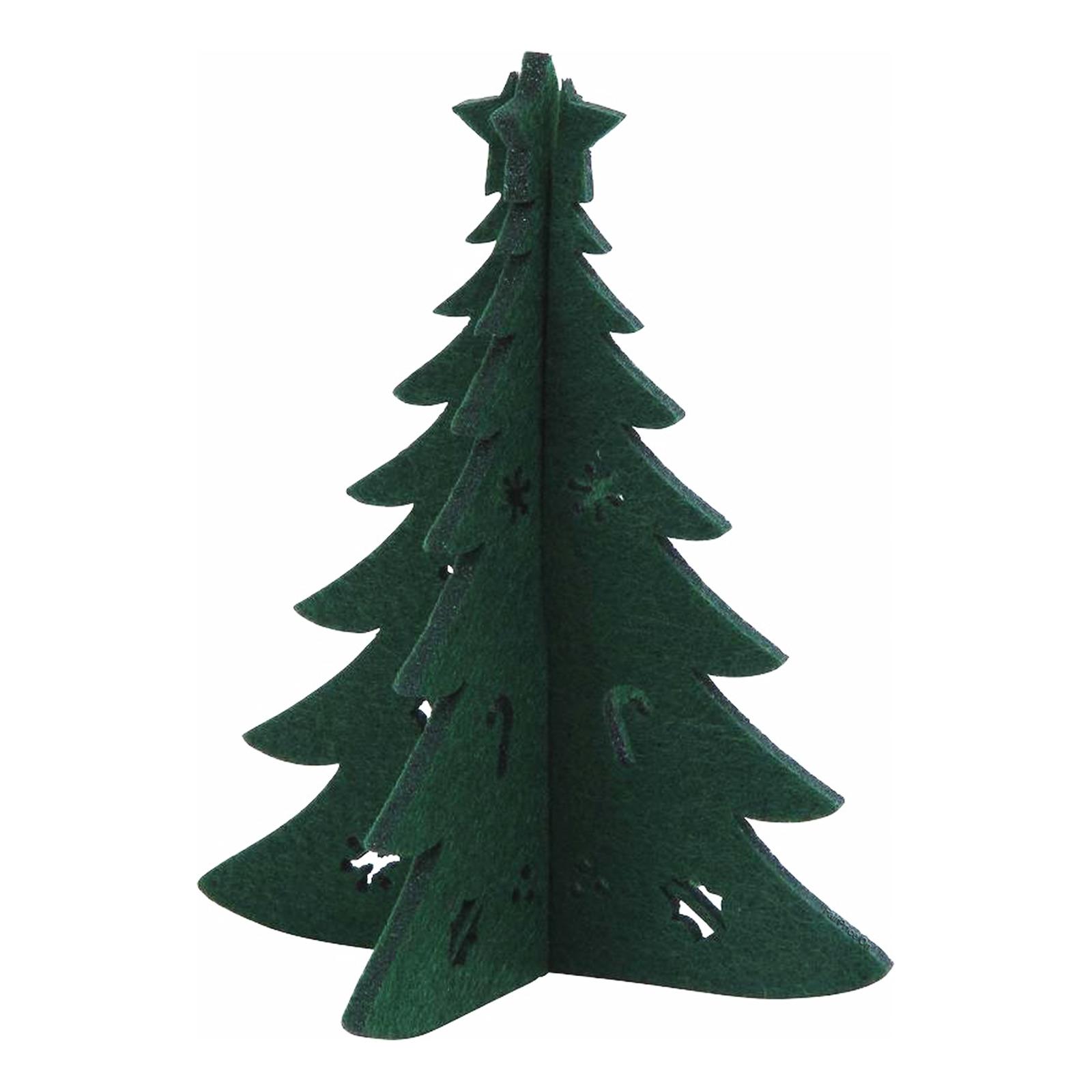 Imported Christmas Felt Decoration - Christmas Tree