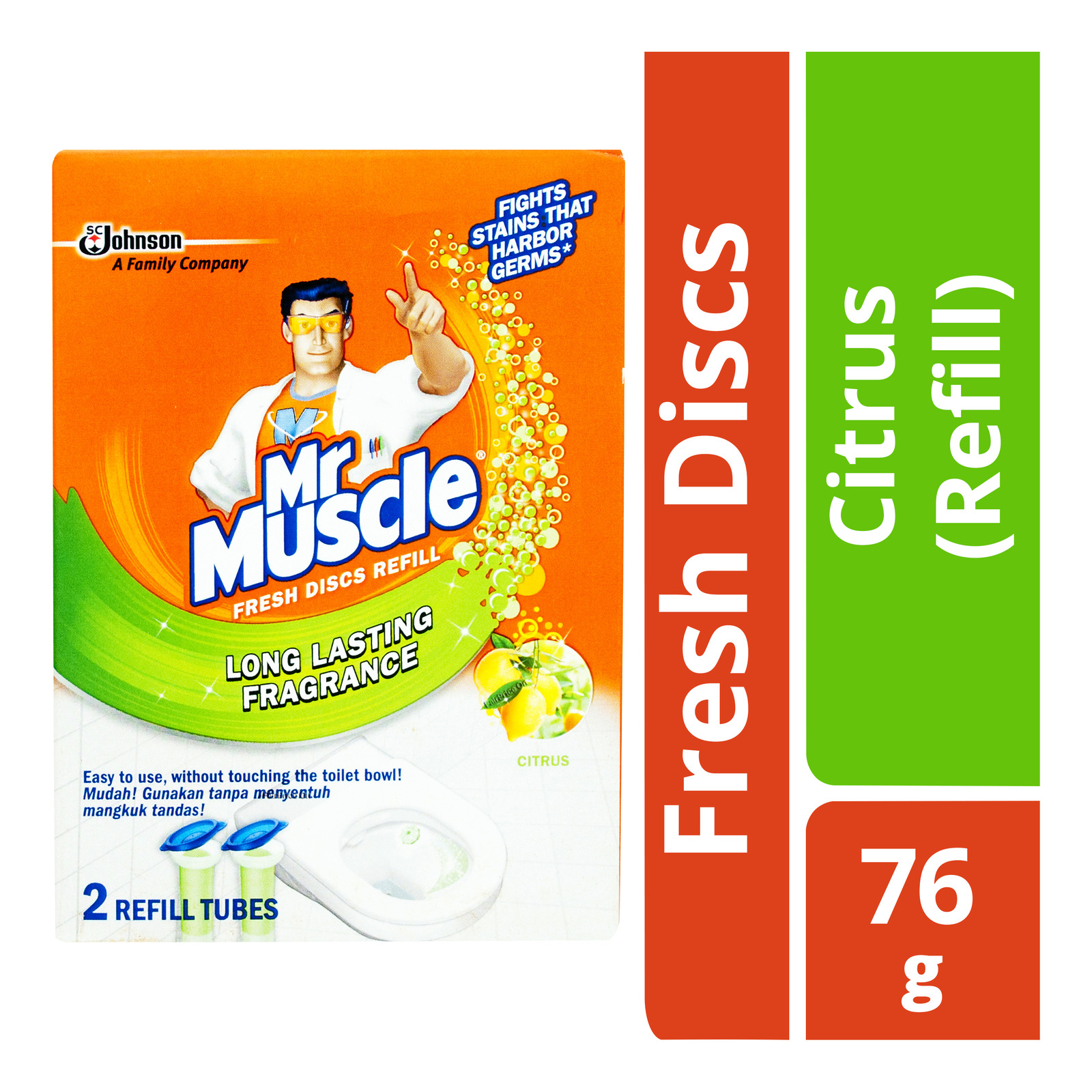 Mr Muscle Fresh Discs Refill - Citrus