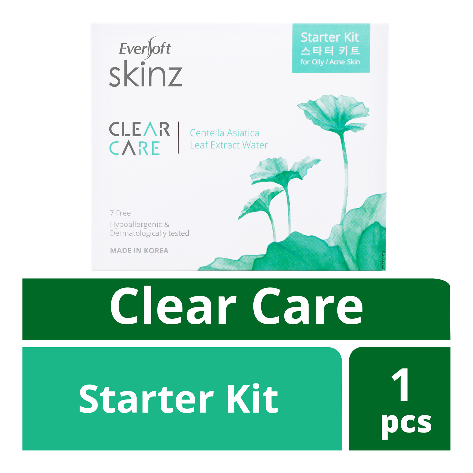 Eversoft Skinz Clear Care Starter Kit