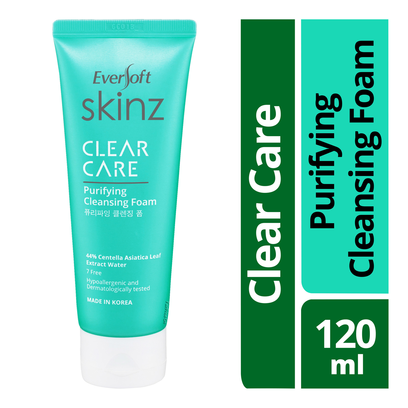 Eversoft Skinz Clear Care Purifying Cleansing Foam