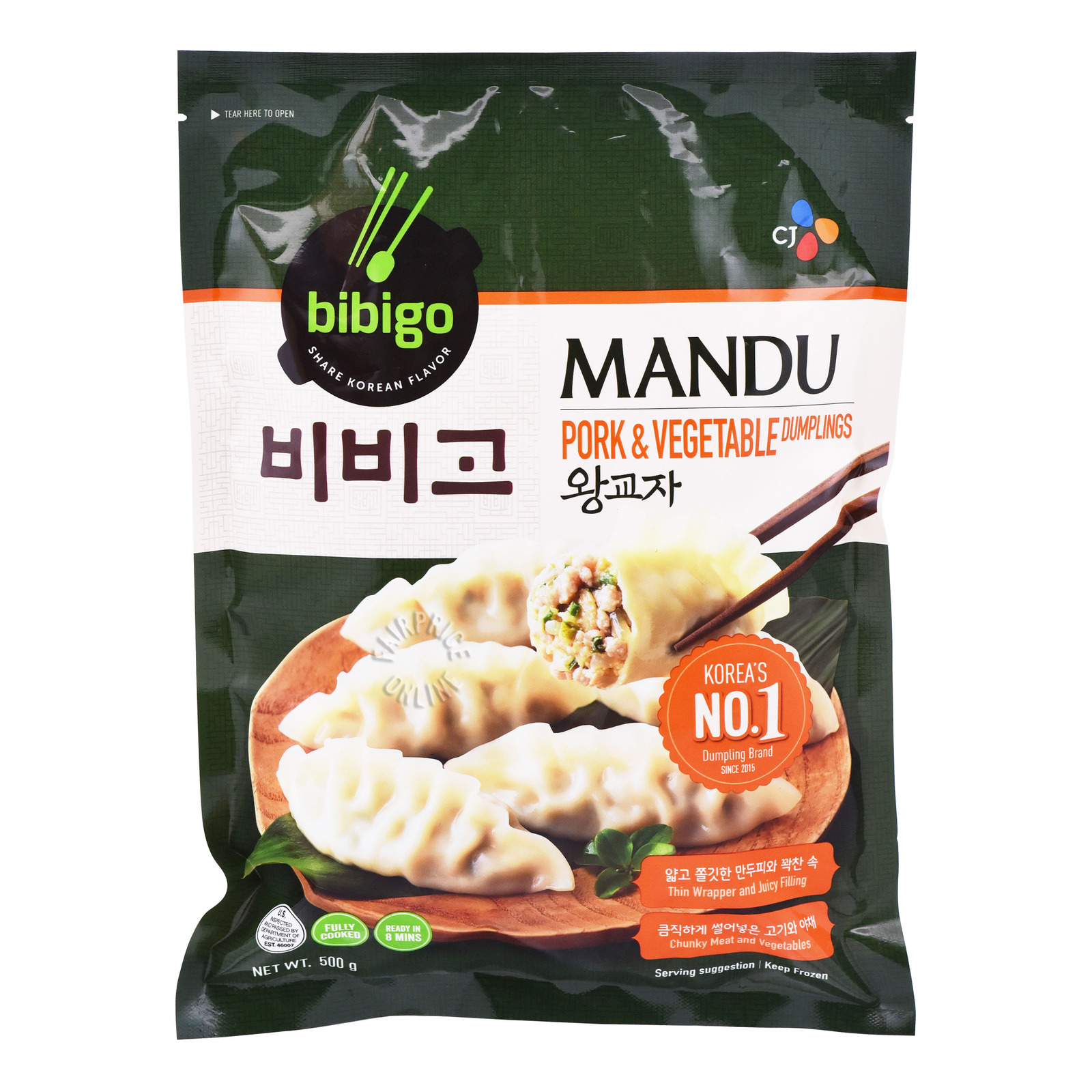 CJ Bibigo Mandu Dumpling - Pork & Vegetable