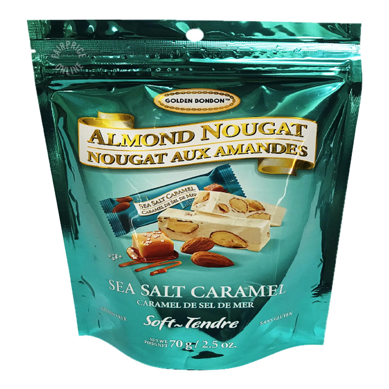 Golden Bon Bon Almond Nougat - Sea Salt