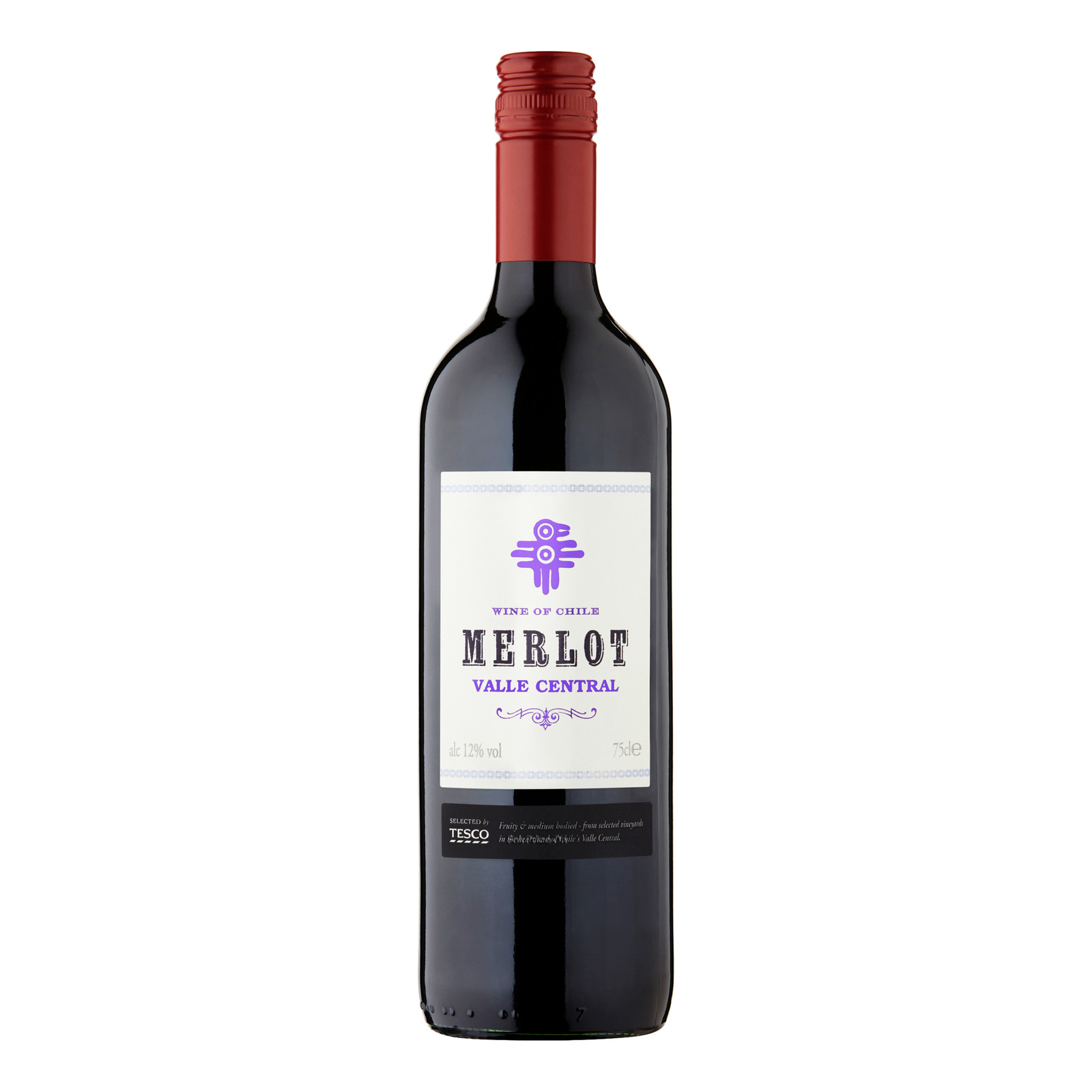 Tesco Red Wine - Valle Central (Merlot)