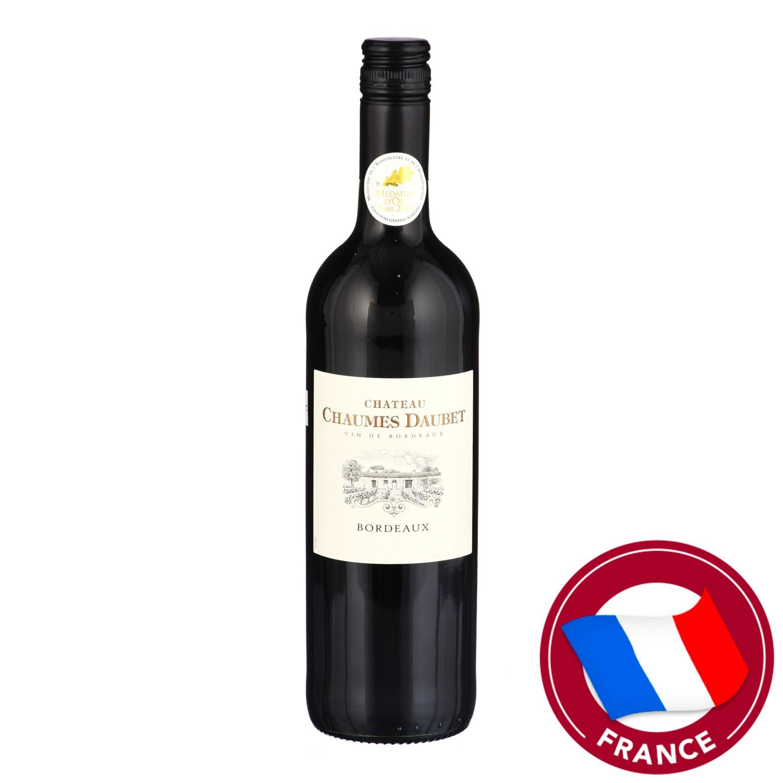 Terre de Vignerones Chateau Chaumes Daubet Red Wine
