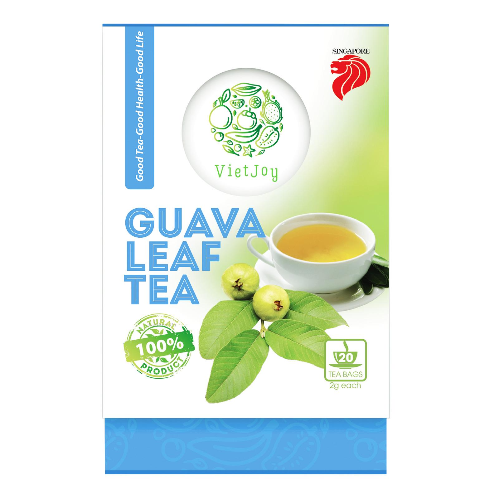 VietJoy Leaf Tea Bags - Guava