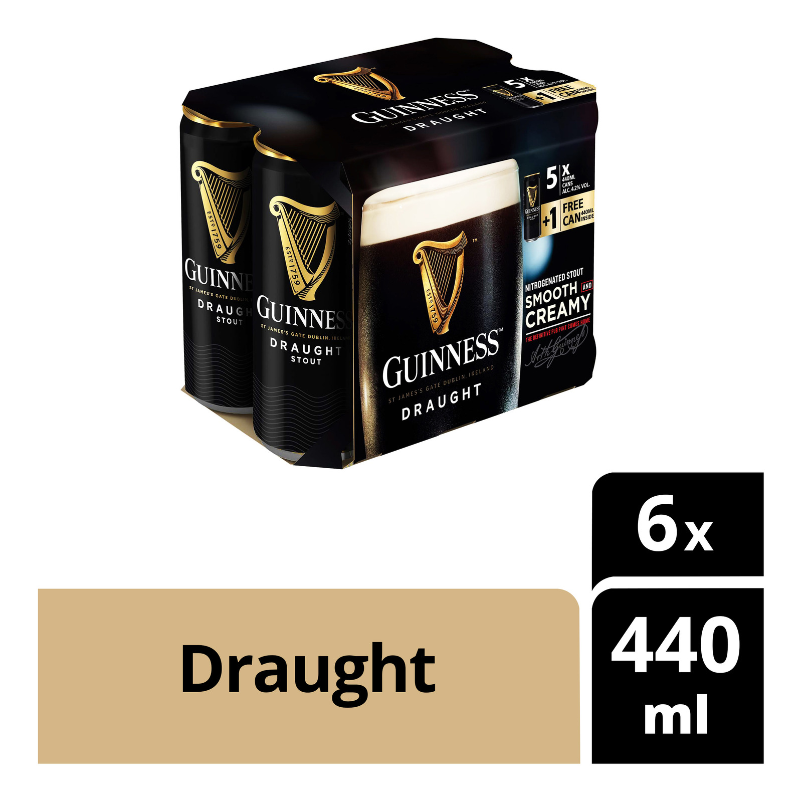Guinness Can Beer - Draught