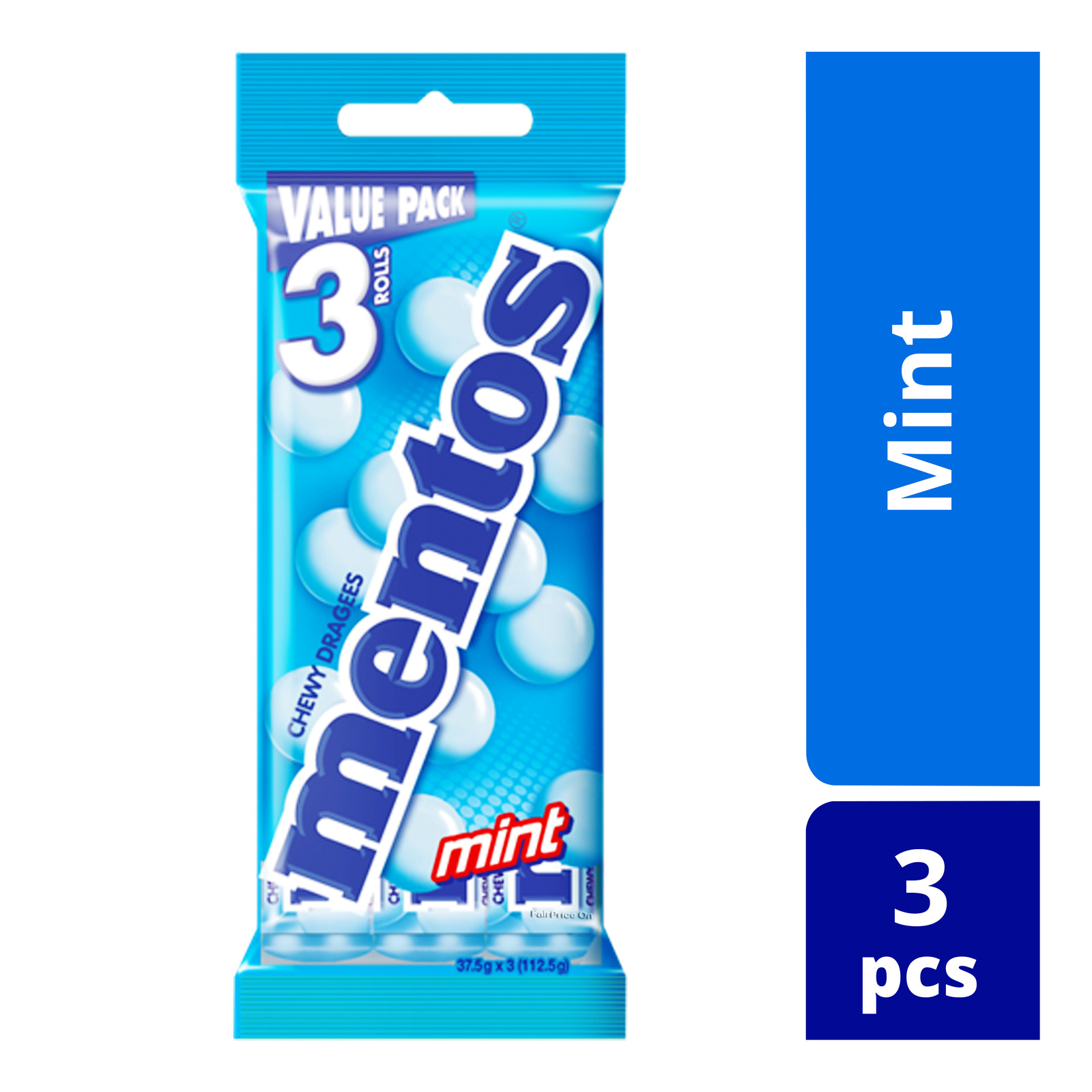 Mentos Chewy Dragees - Mint