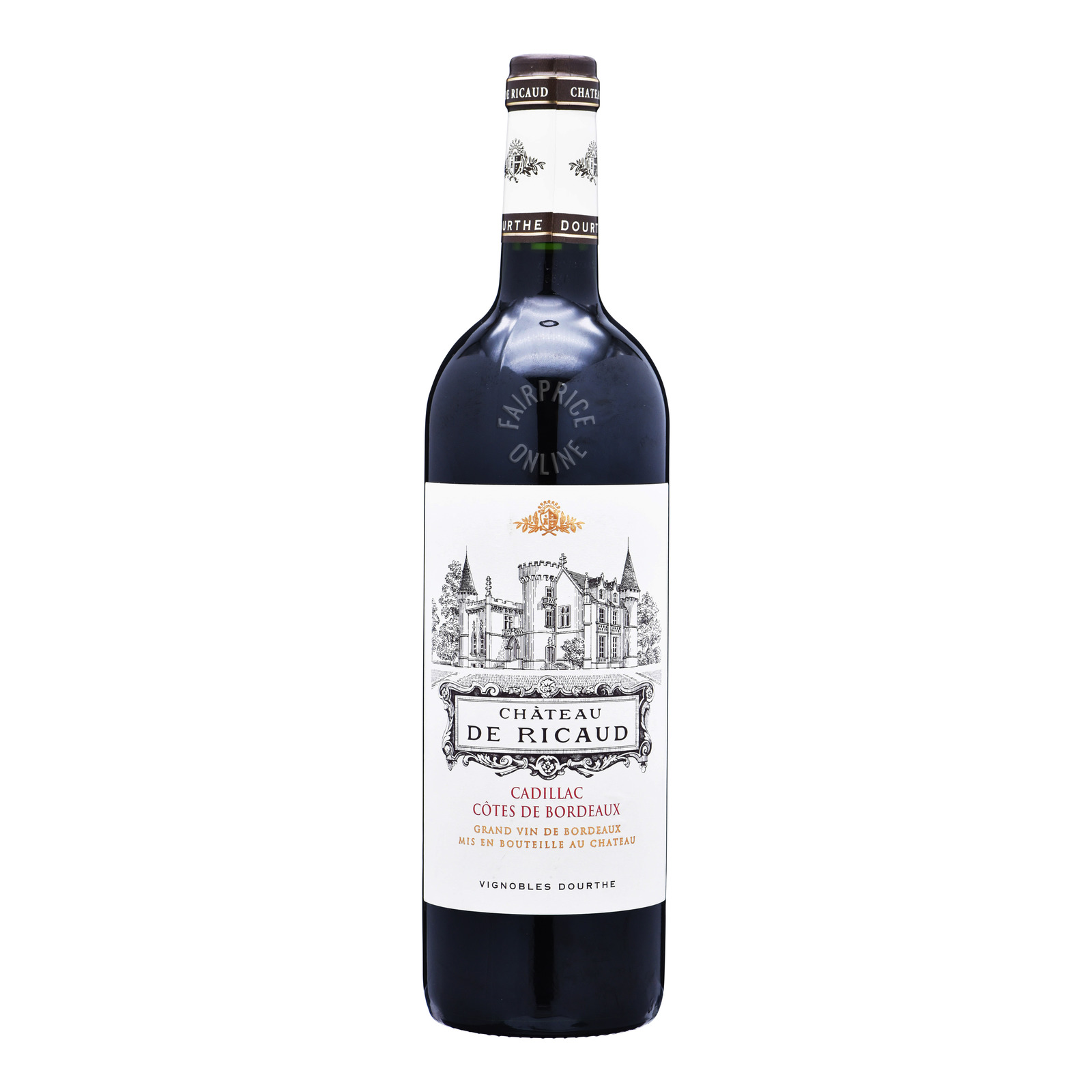 Chateau De Ricaud Red Wine - Cadillac Cotes De Bordeaux