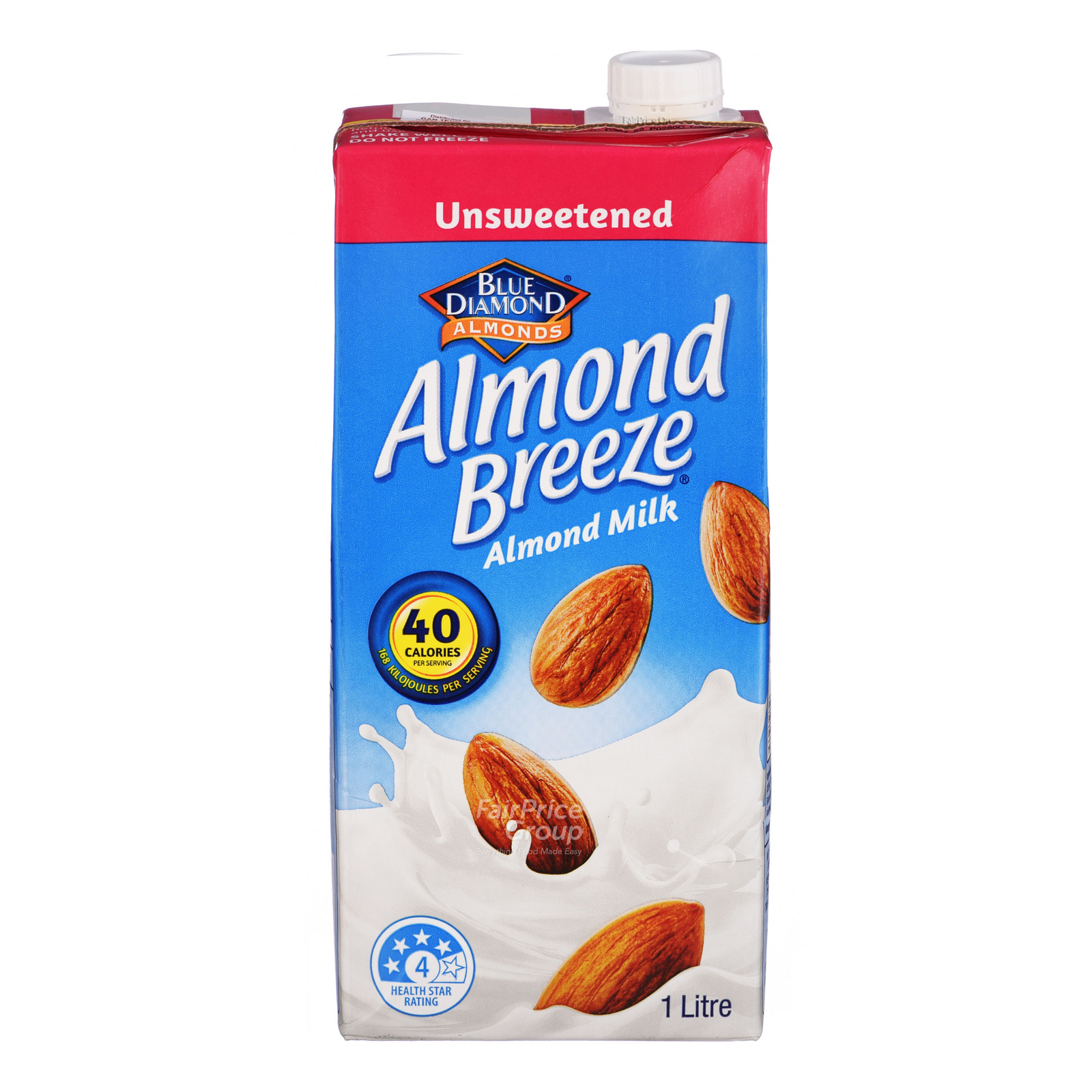Blue Diamond Almond Breeze Almond Milk - Unsweetened