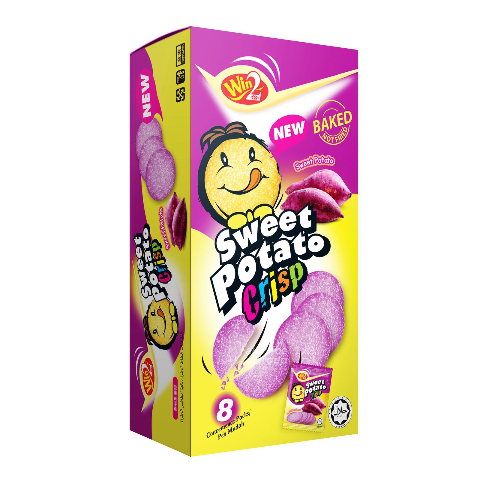 Win2 Baked Potato Crisp Crackers - Sweet Potato