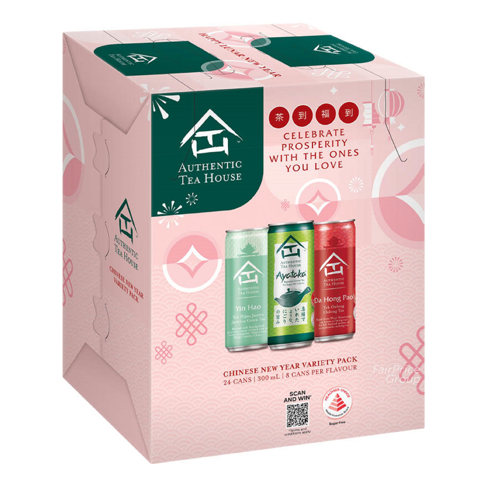 Authentic Tea House Can Drink - CNY Variety Pack