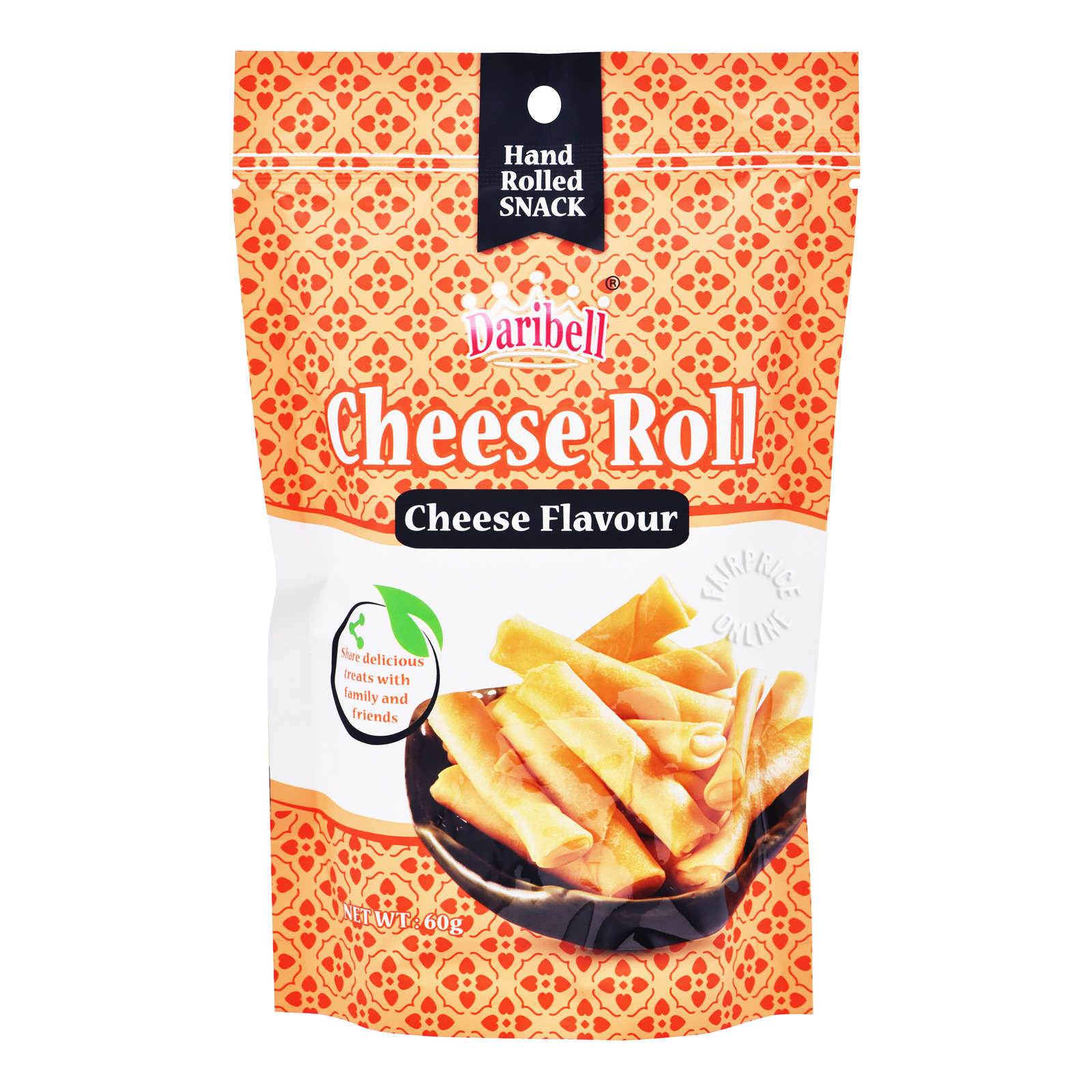 Daribell Hand Rolled Snack - Cheese Roll