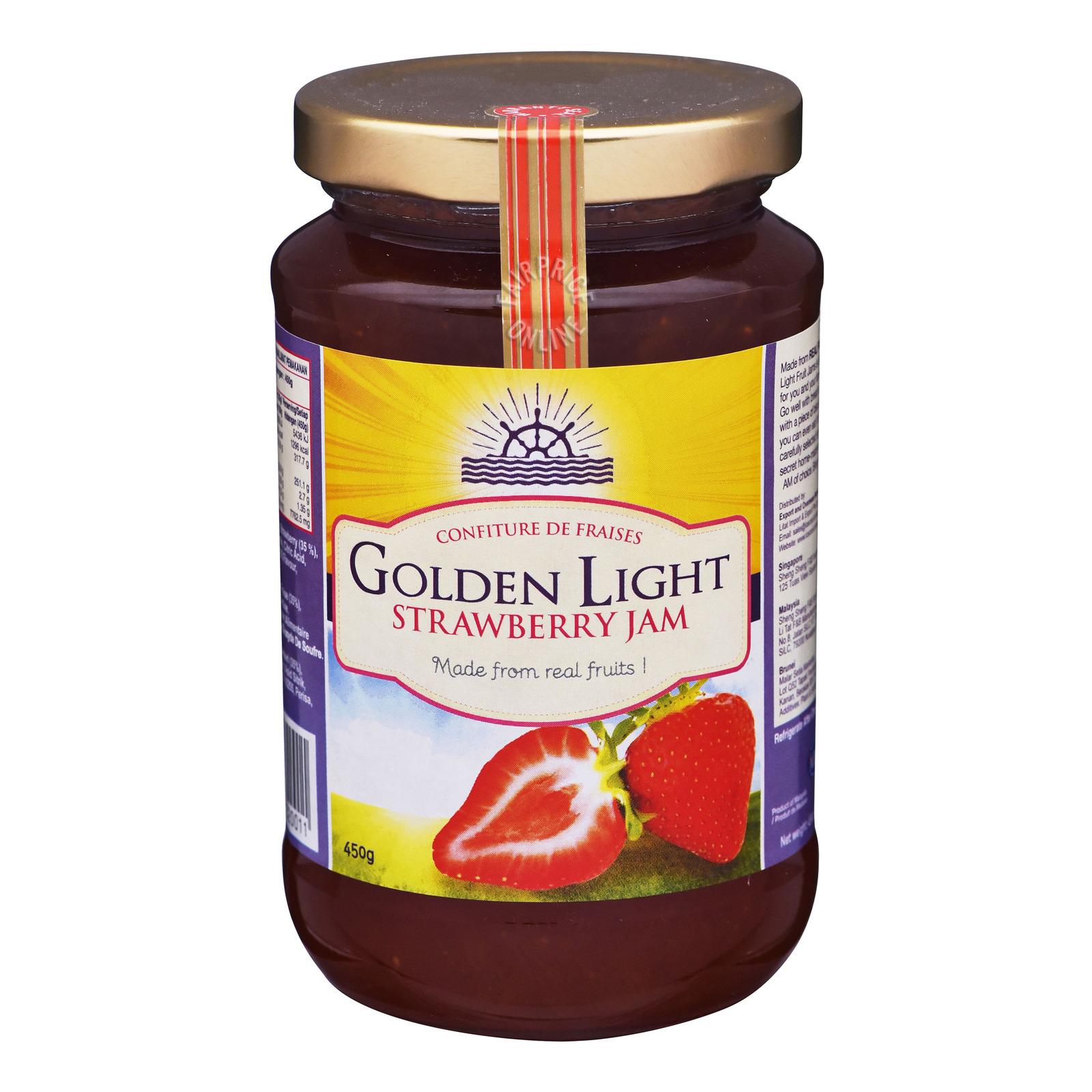 Golden Light Jam - Strawberry