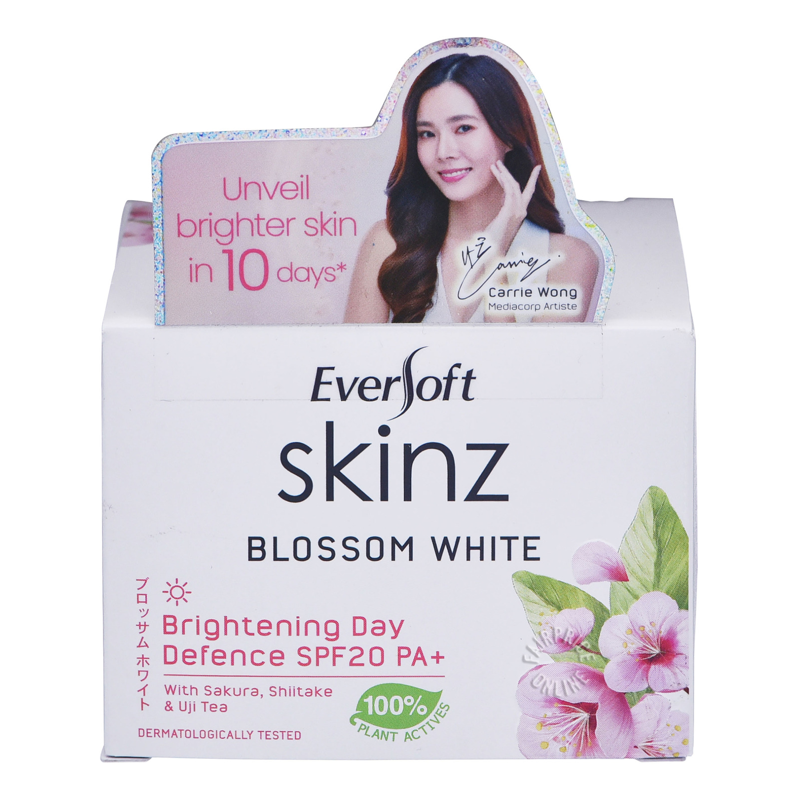 Eversoft Skinz Blossom White Brightening Day Defence (SPF15 PA++)