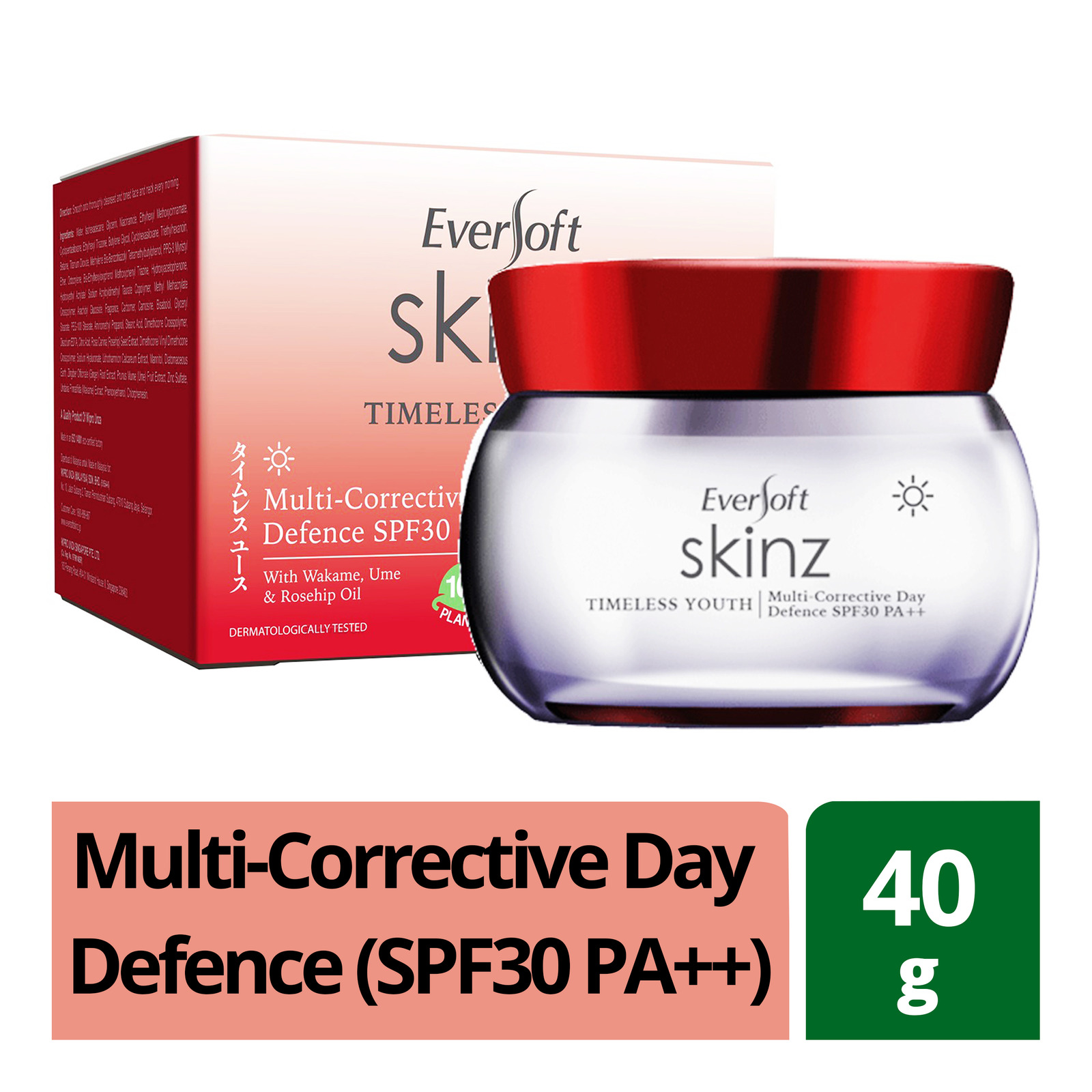 Eversoft Timeless Youth Multi-Corrective Day Defence (SPF30 PA++)