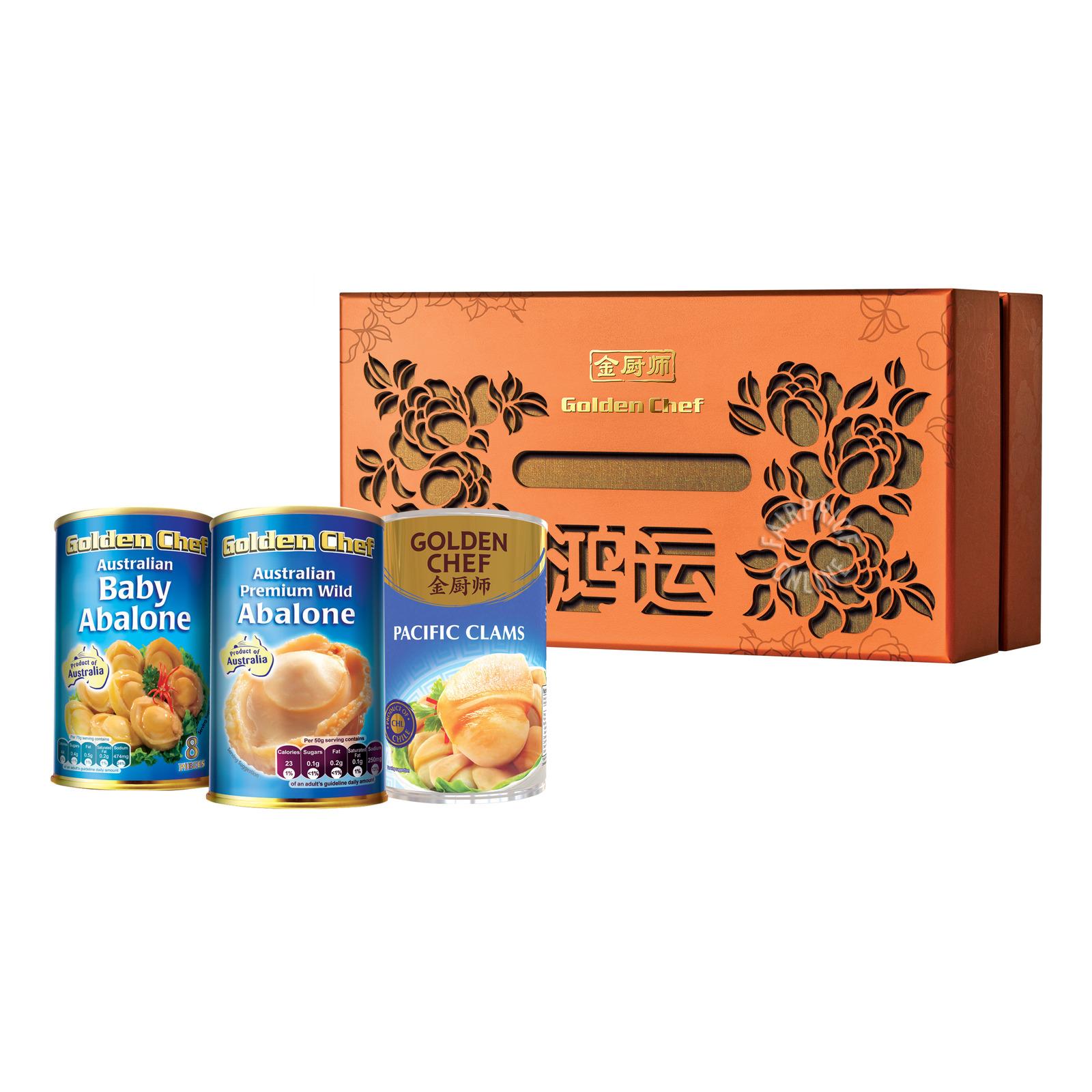 Golden Chef Gift Set - Prosperity