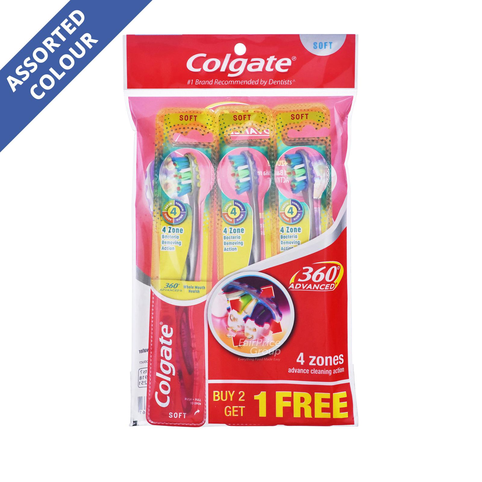 Colgate 360 Advanced Toothbrush - Soft