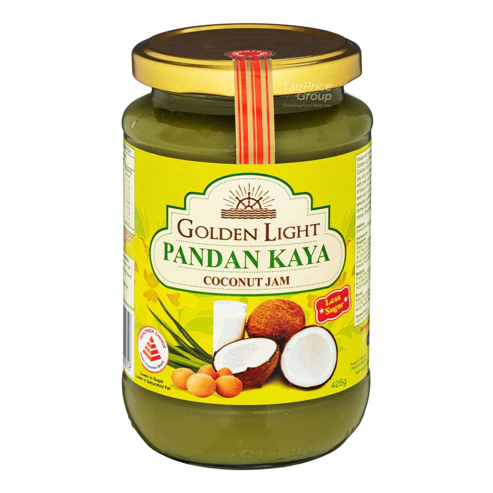 Golden Light Kaya - Pandan
