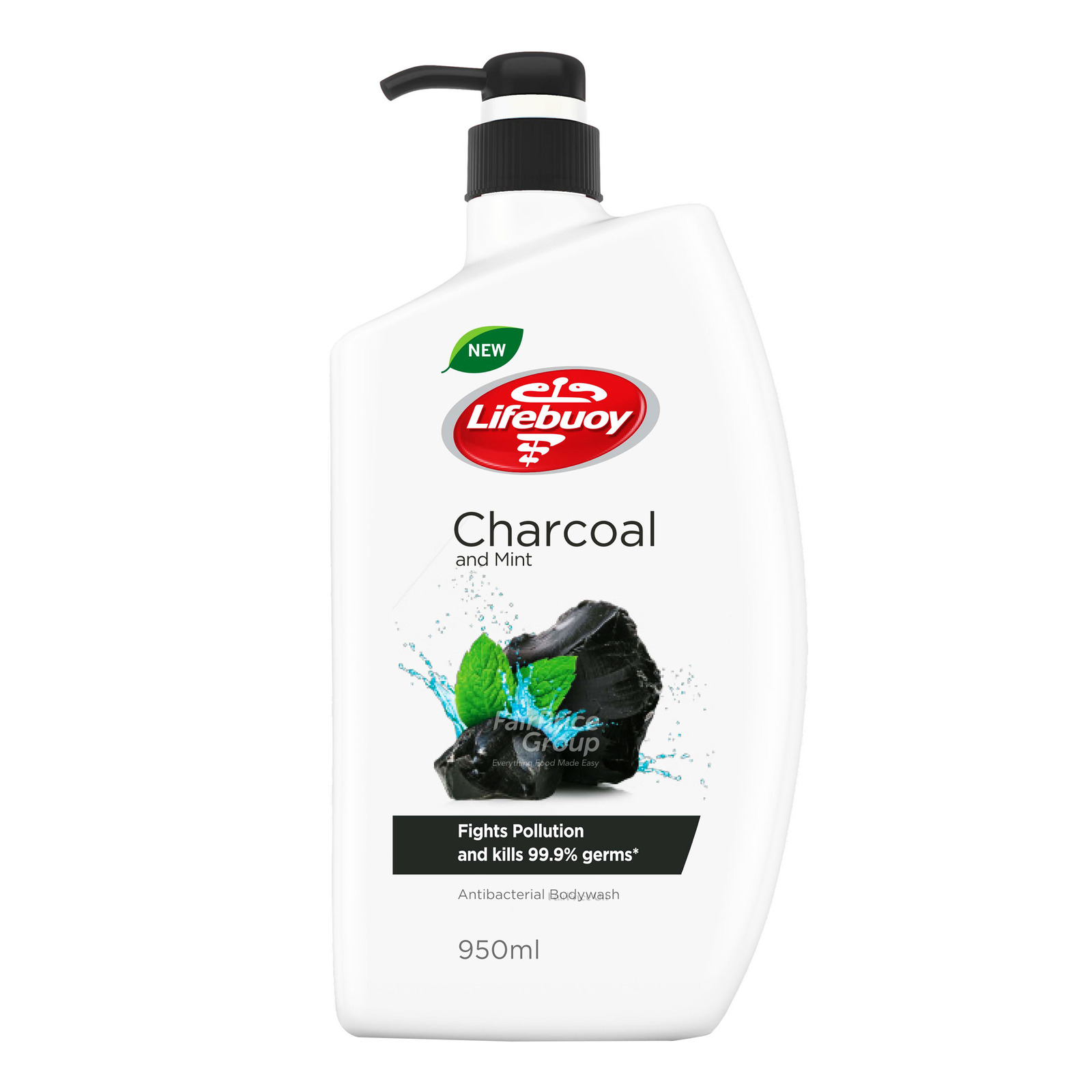 Lifebuoy Antibacterial Body Wash - Charcoal