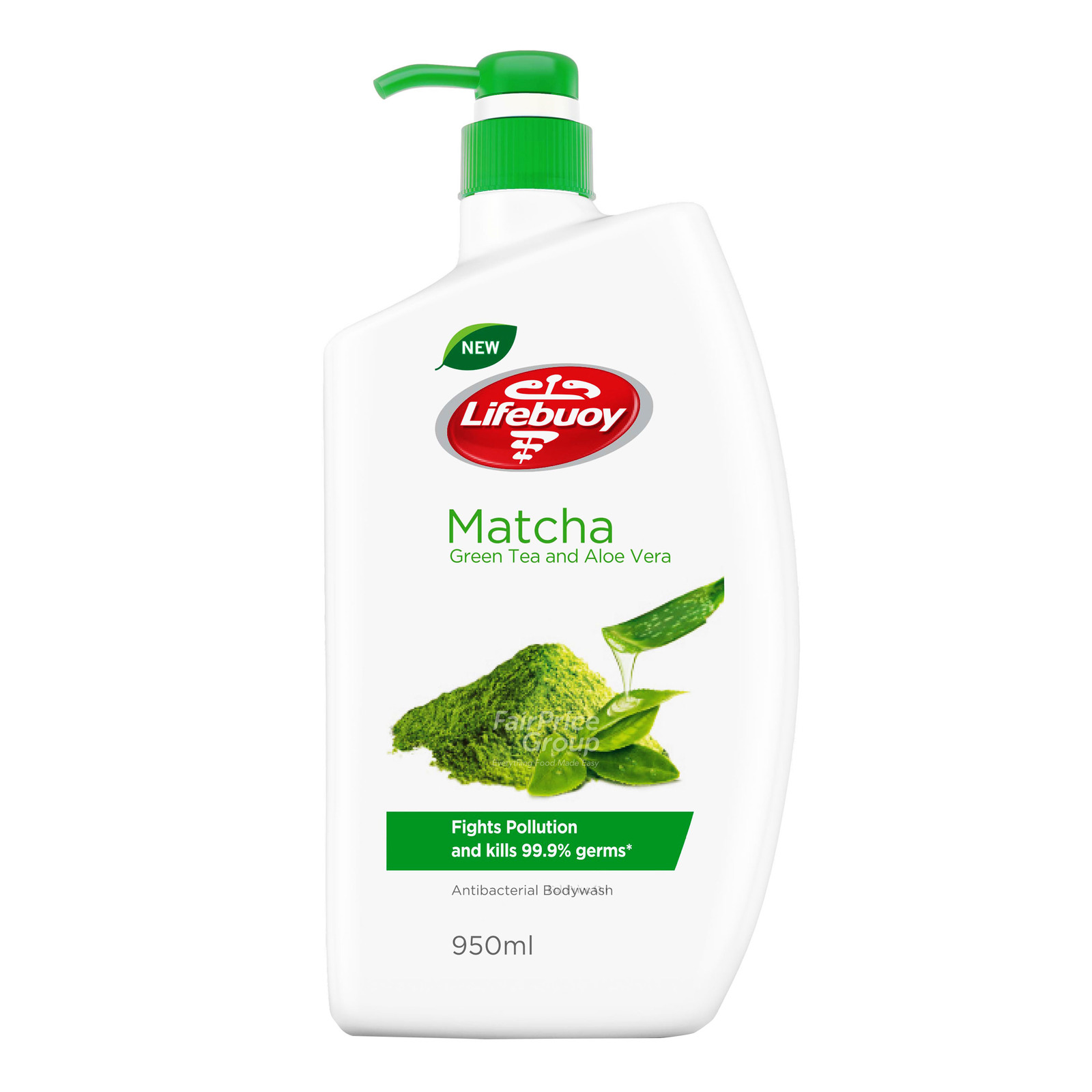 Lifebuoy Antibacterial Body Wash - Matcha