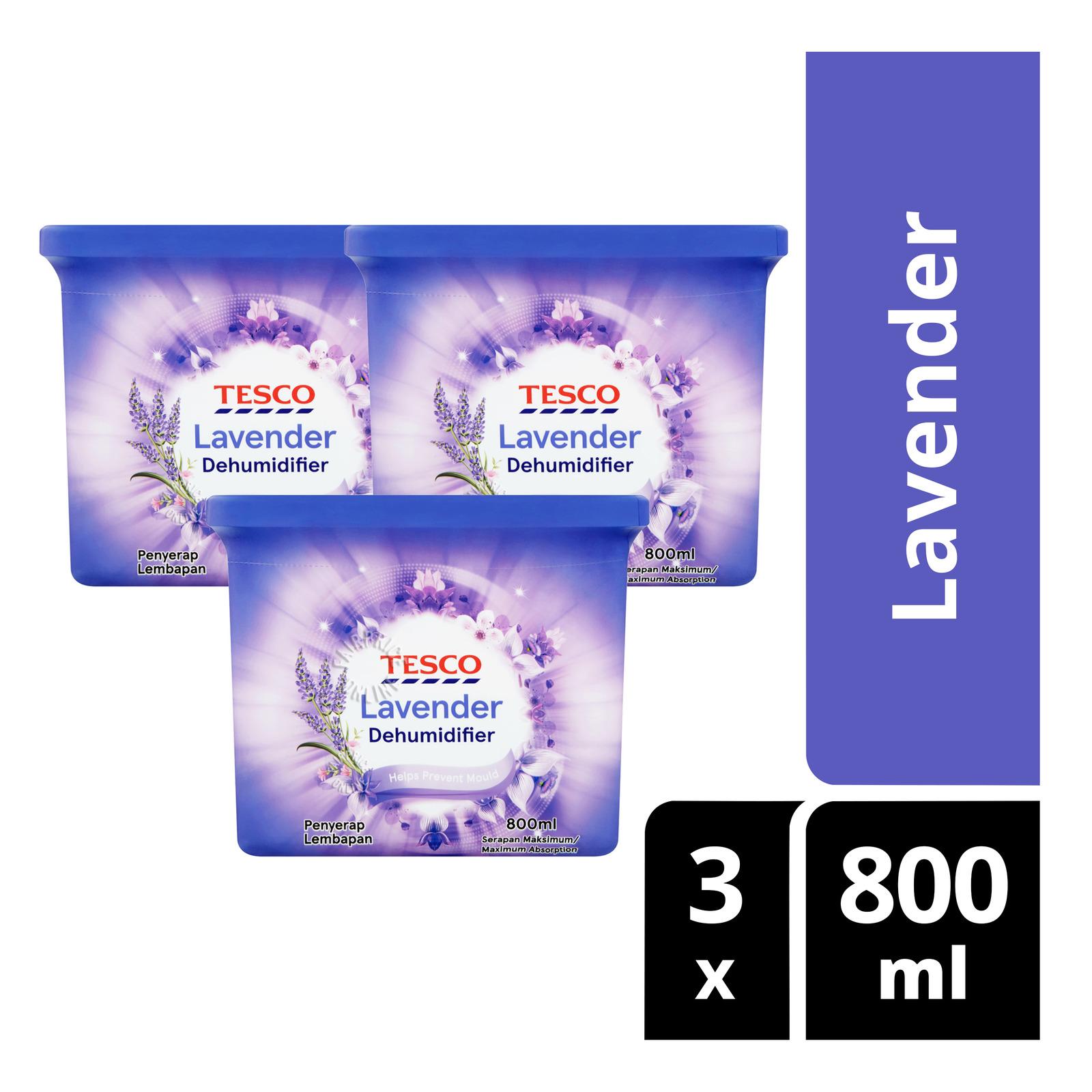 Tesco Dehumidifier - Lavender
