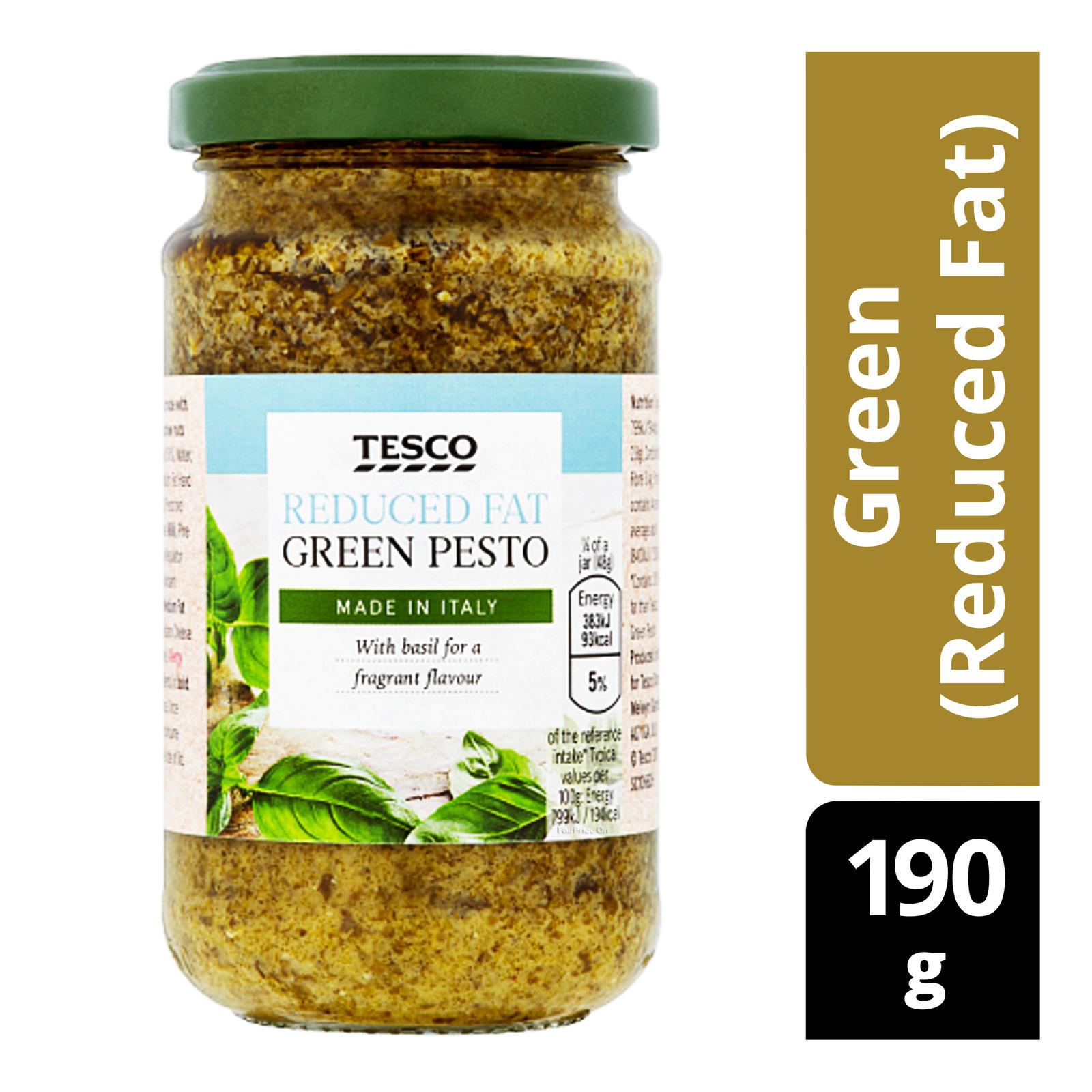 Tesco Pesto - Green (Reduced Fat)