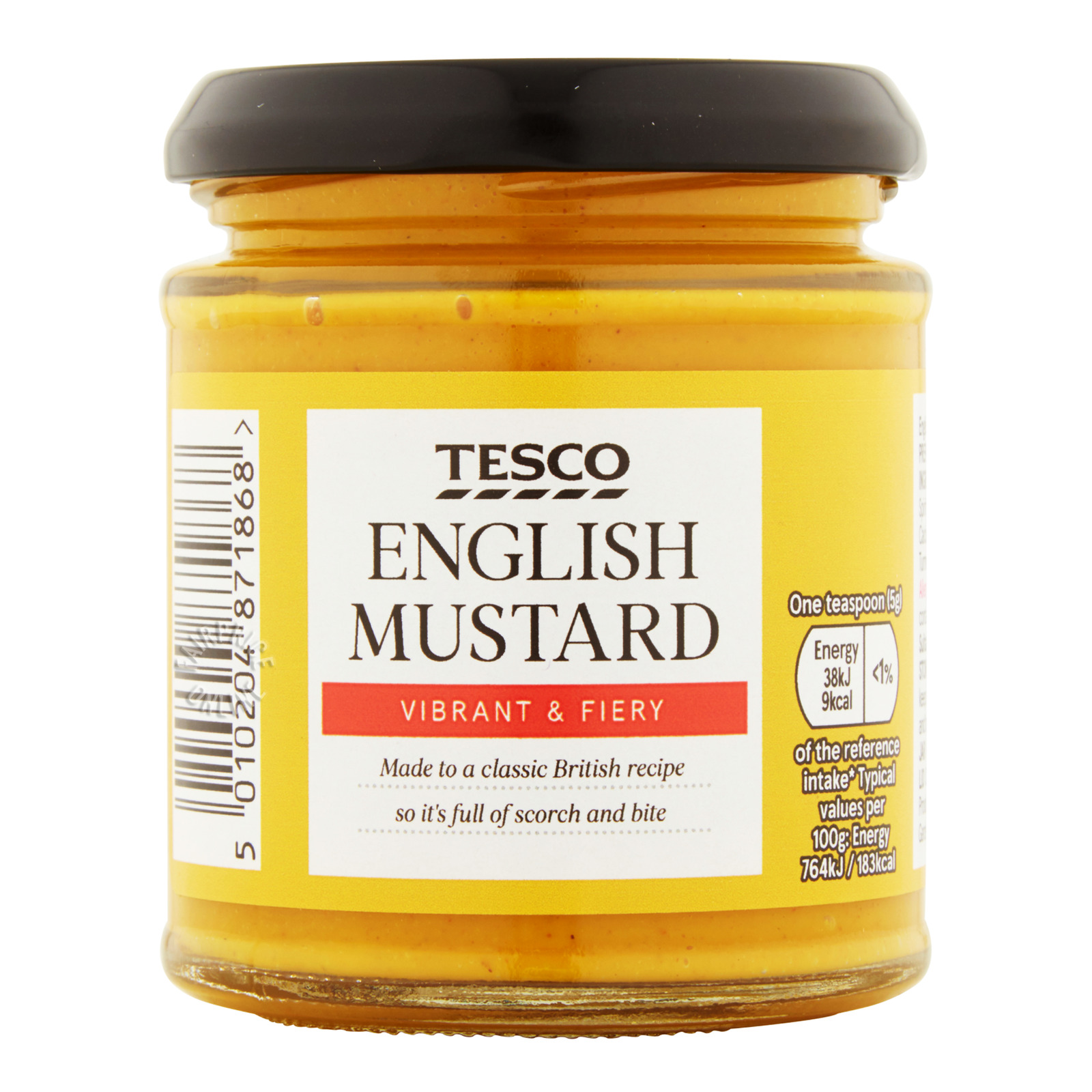 Tesco Mustard - English (Vibrant & Fiery)
