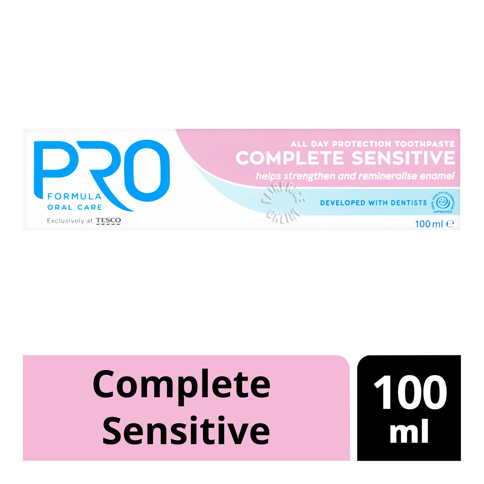 Tesco Pro All Day Protection Toothpaste - Complete Sensitive