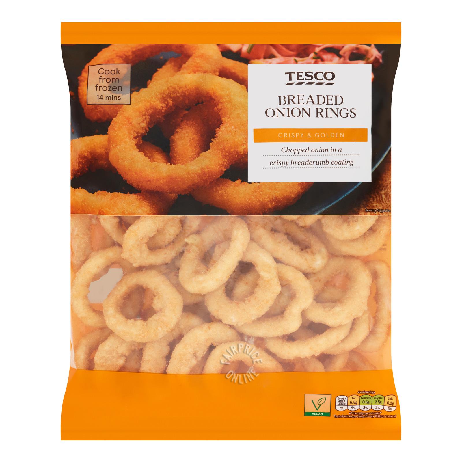 Tesco Breaded Onion Rings