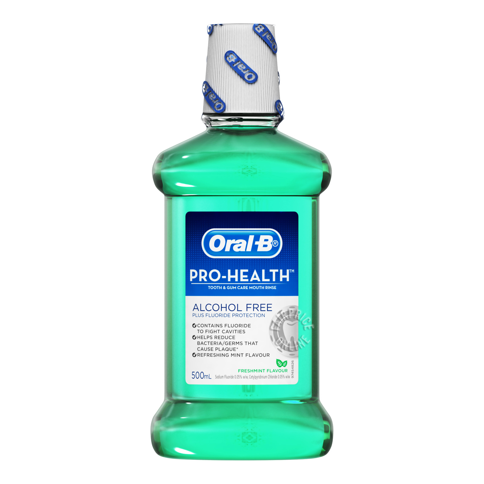 Oral-B Pro-Health Mouth Rinse - Fresh Mint