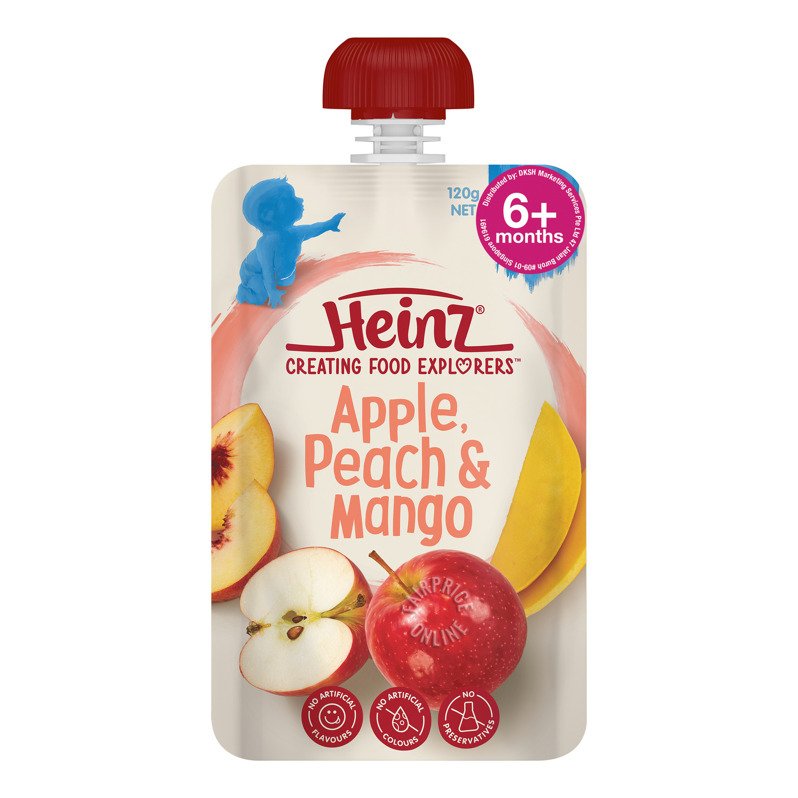 Heinz Fruit Pouch-Apple Peach & Mango Pouch