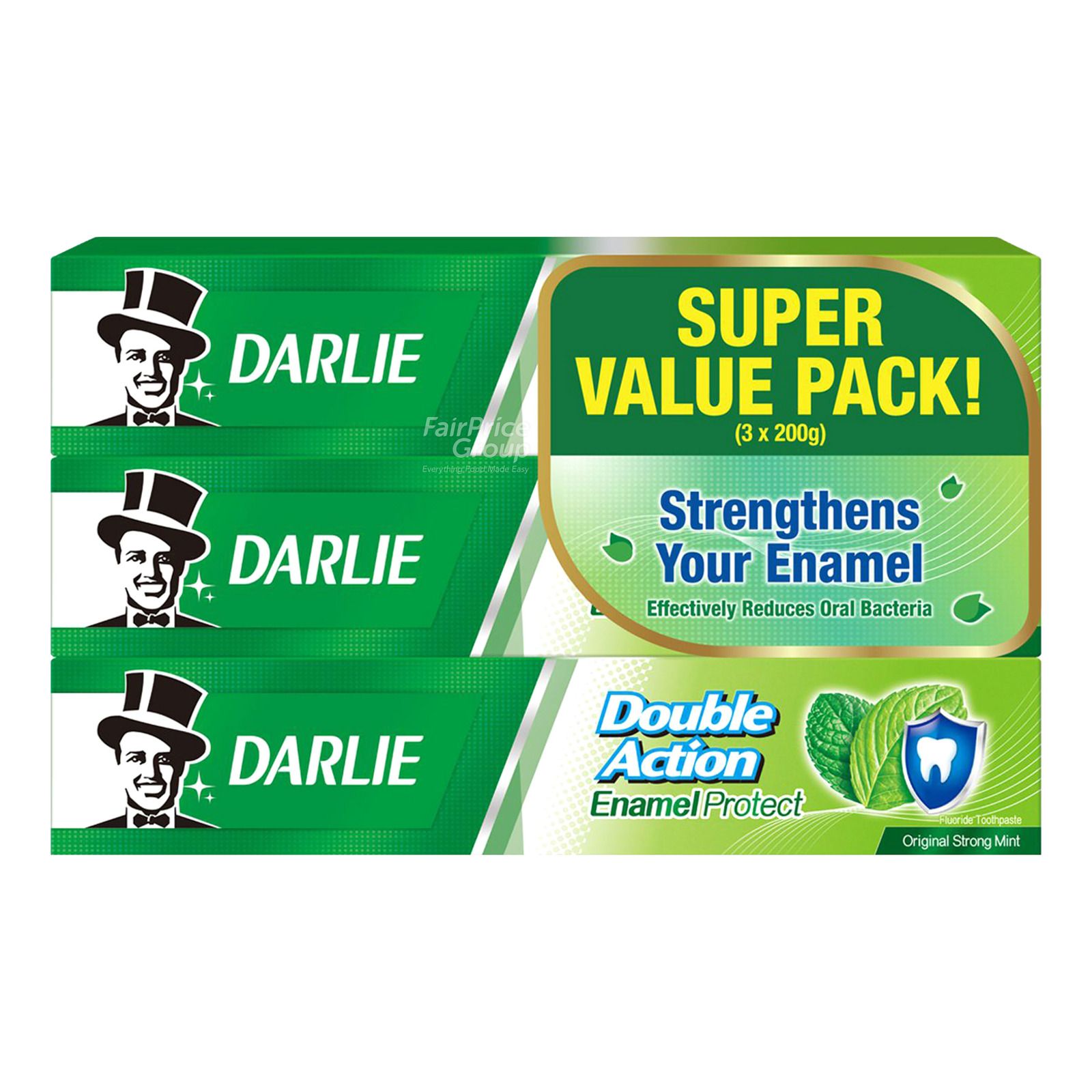 Darlie Double Action Toothpaste - Enamel Protect (Mint)