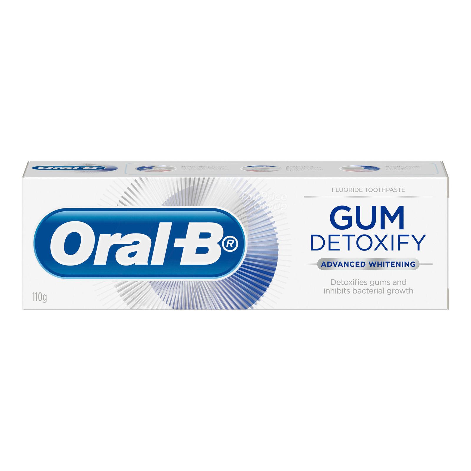 Oral-B Gum Detoxify Advanced Whitening Toothpaste, 110g
