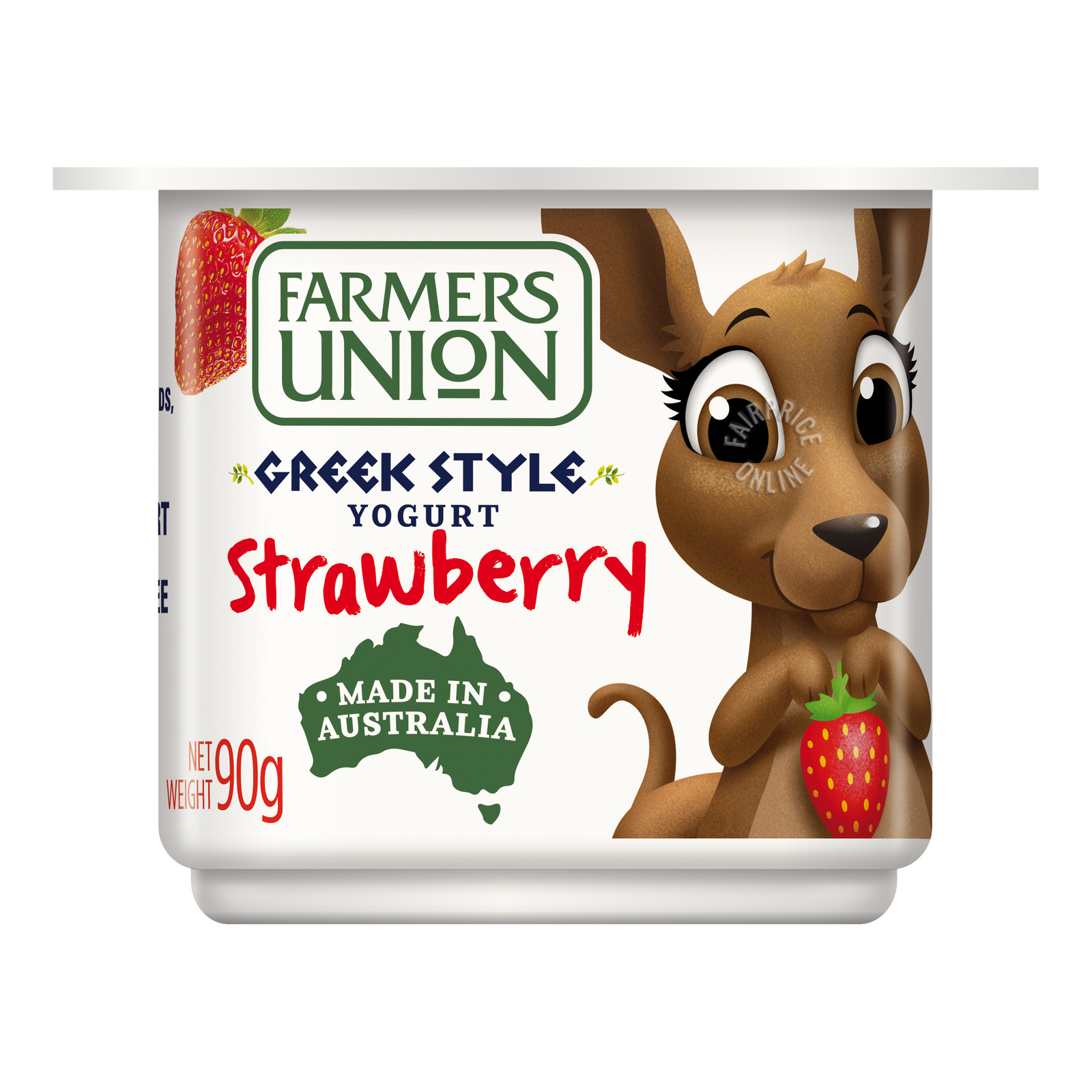 Farmers Union Greek Style Yoghurt - Strawberry