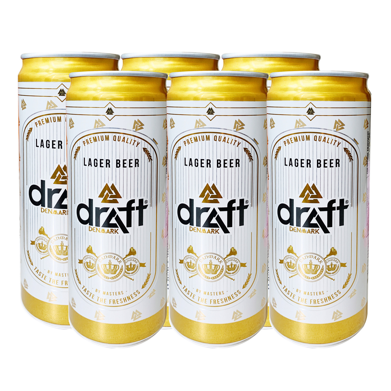Draft Premium Lager Can Beer