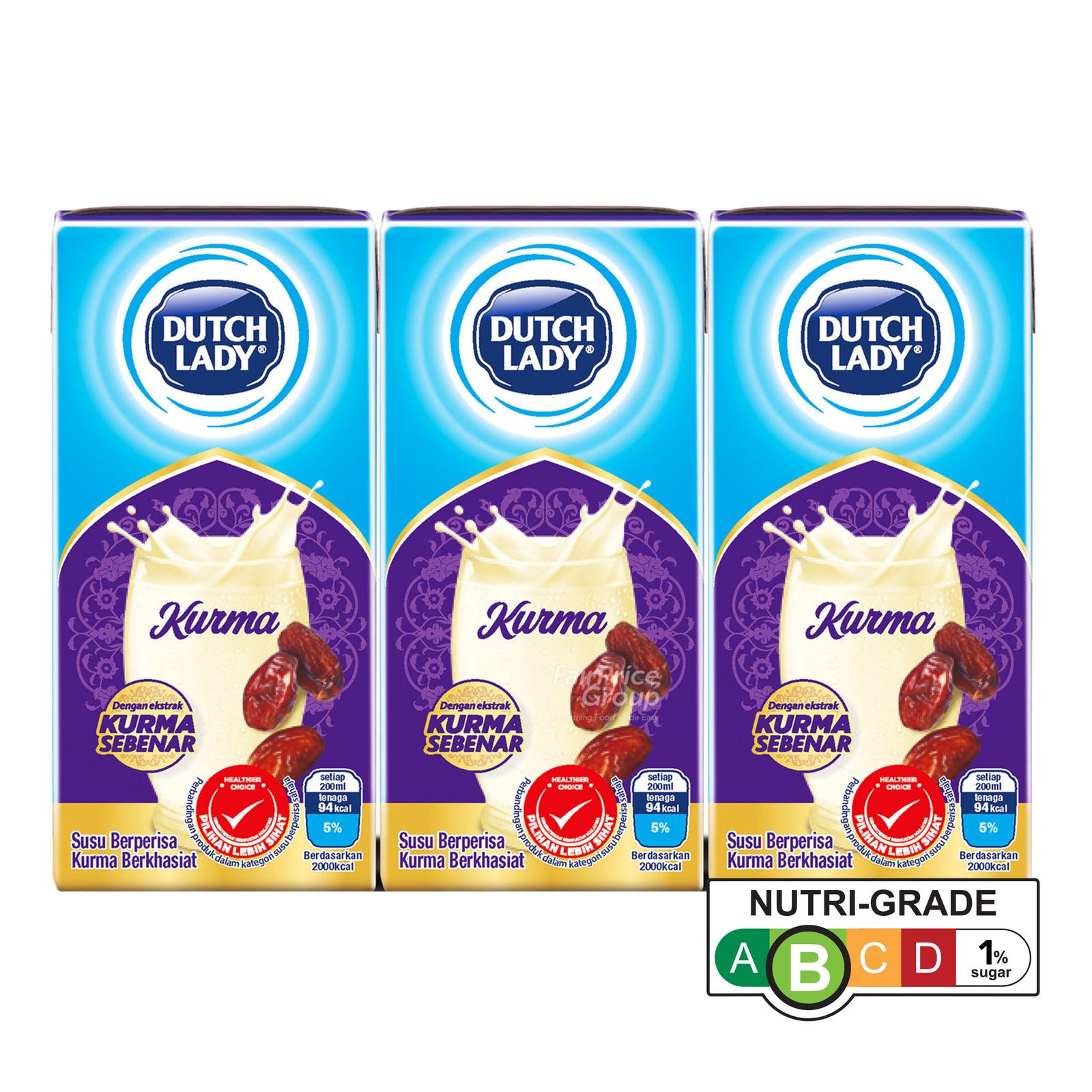 Dutch Lady UHT Milk - Kurma