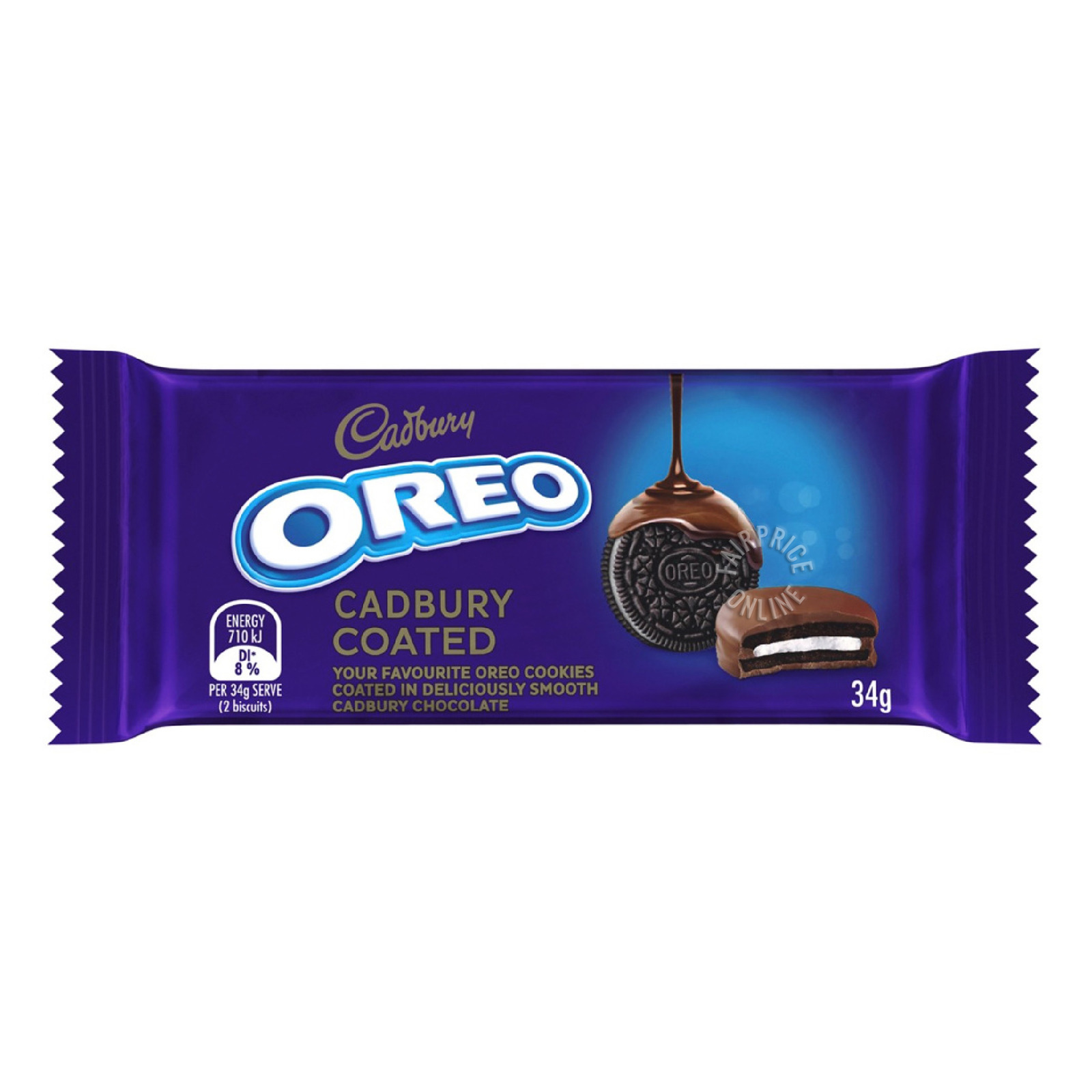 Oreo Cookie Sandwich Biscuit - Chocolate (Coated)