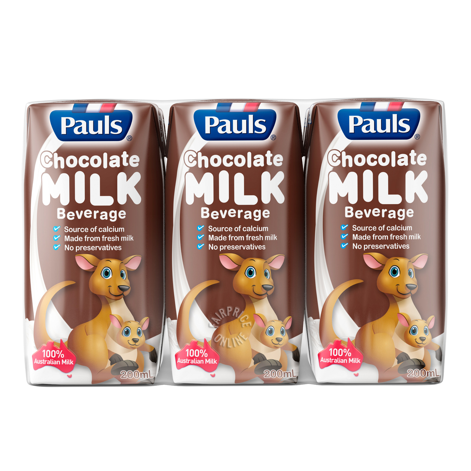 Pauls UHT Packet Milk - Chocolate