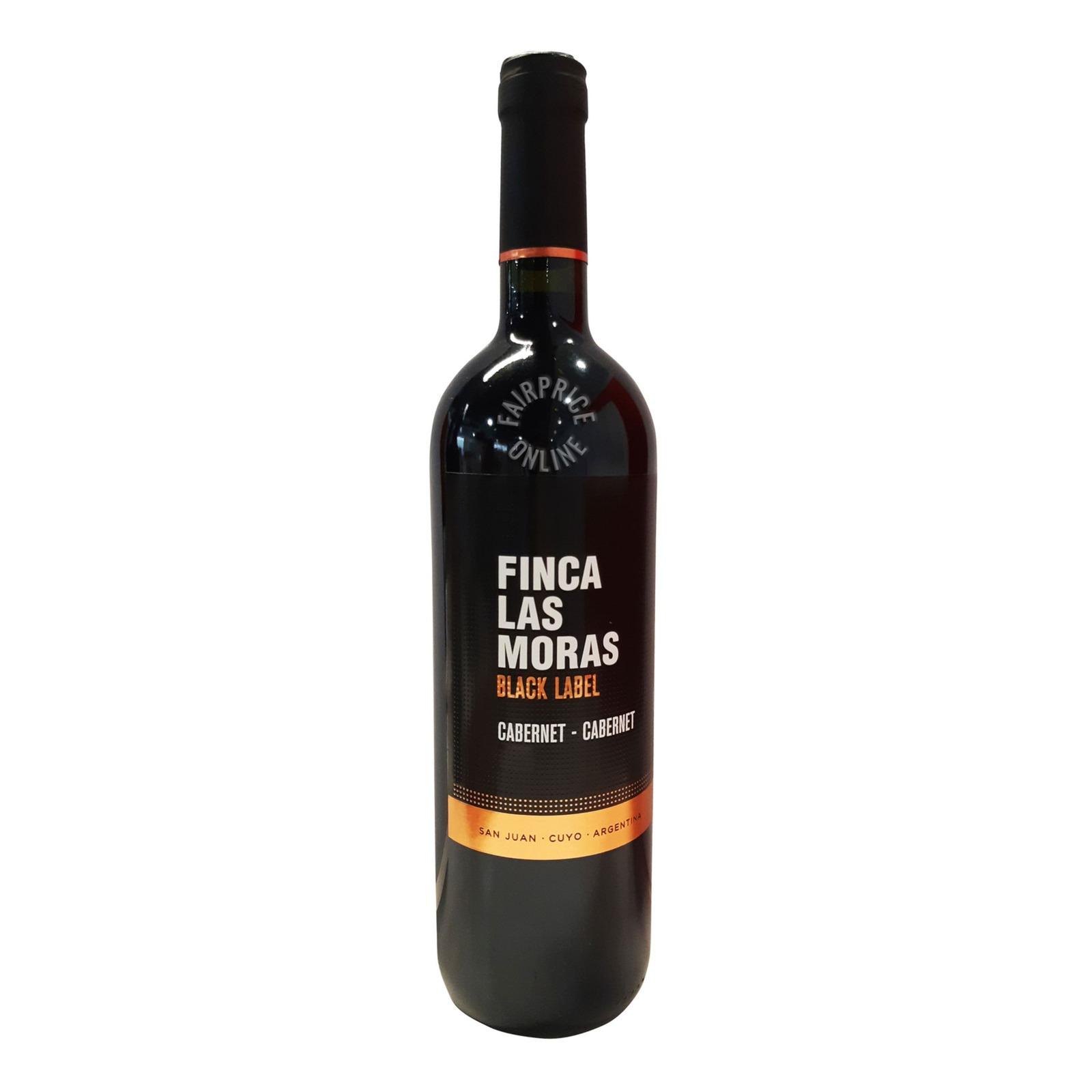 Finca Las Moras Black Label Red Wine - Cabernet Franc