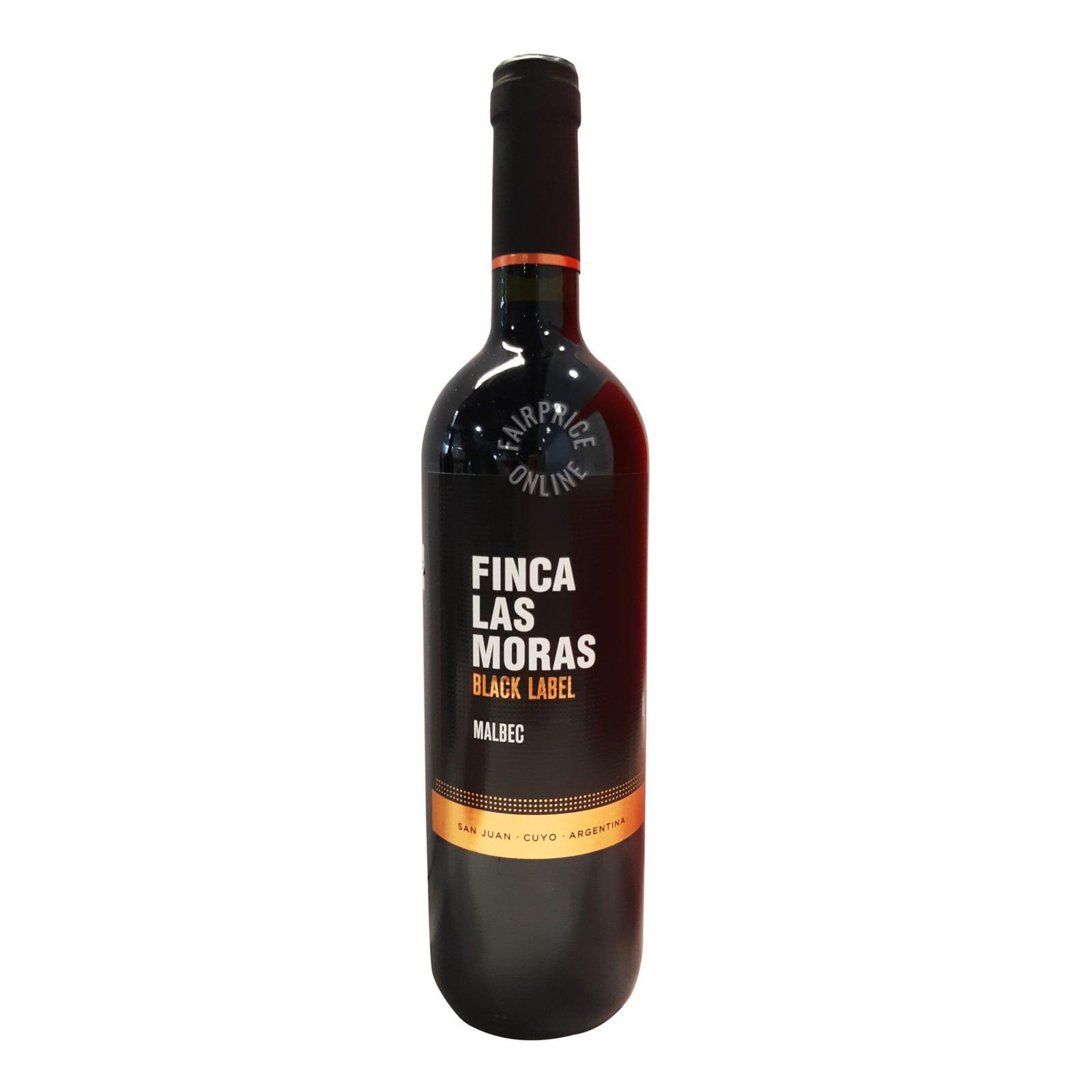 Finca Las Moras Black Label Red Wine - Malbec