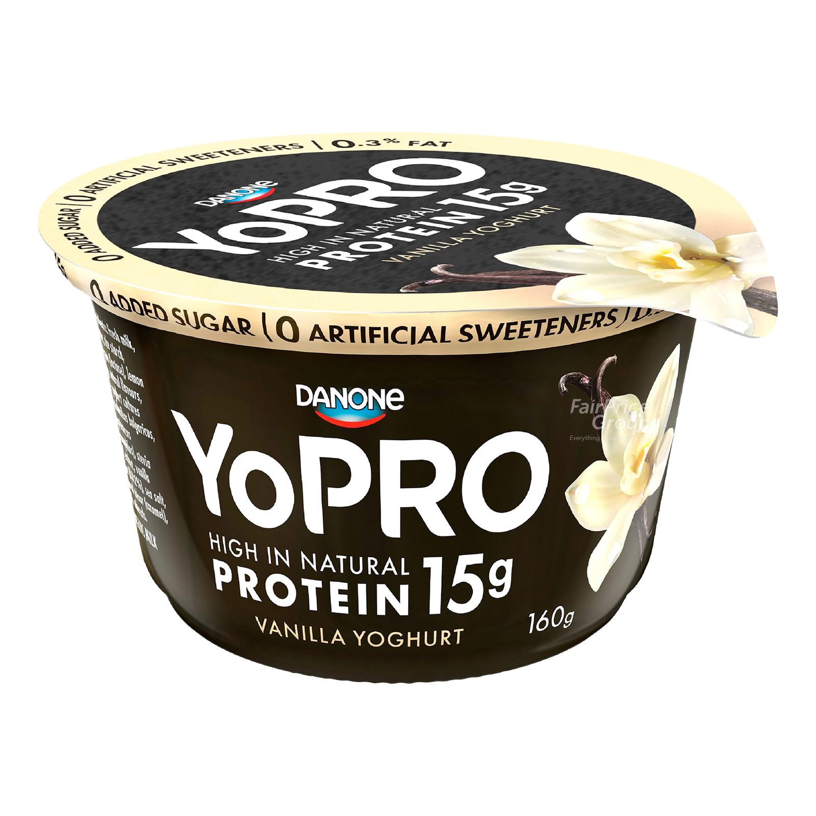 Danone YoPro Yoghurt - Vanilla