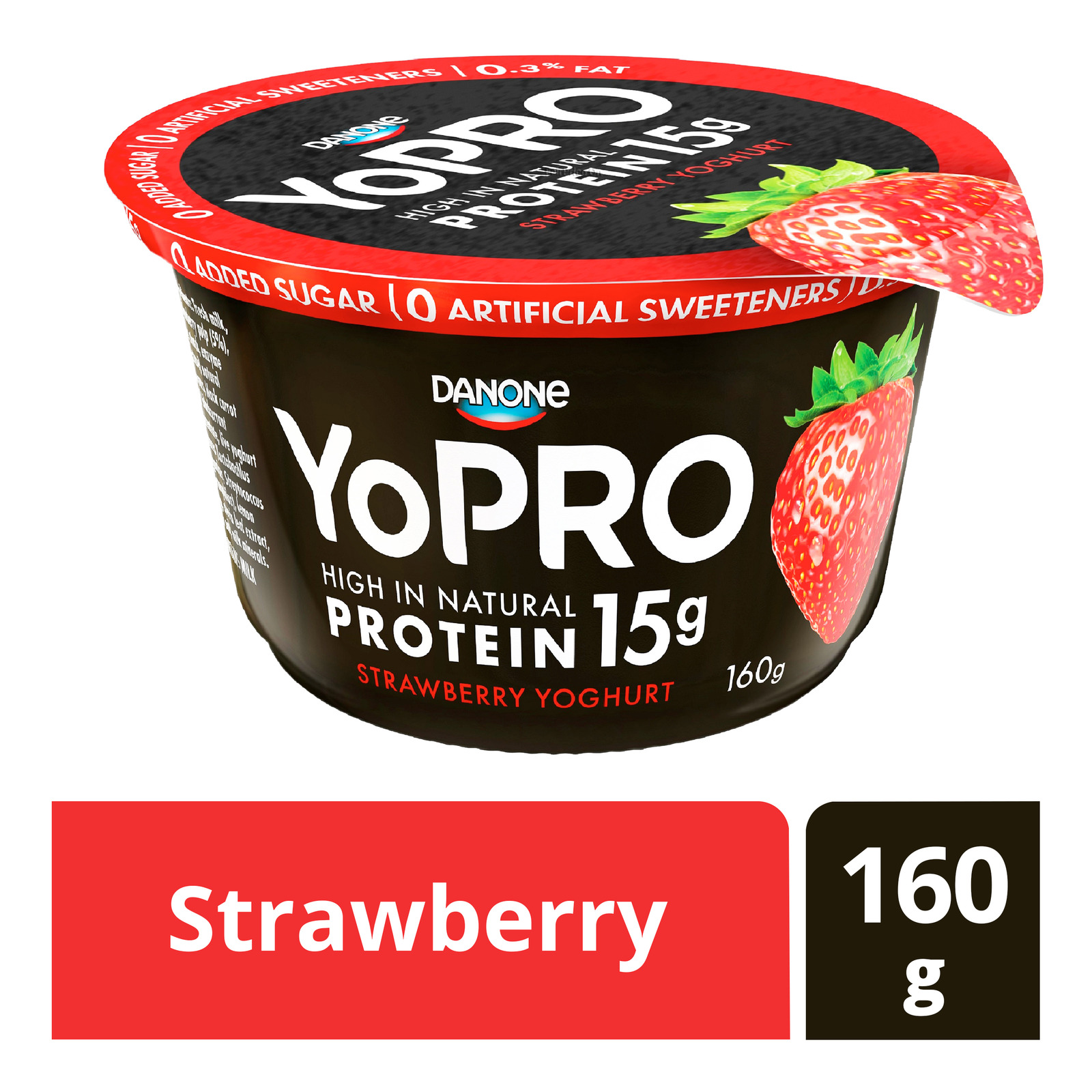 Danone YoPro Yoghurt - Strawberry