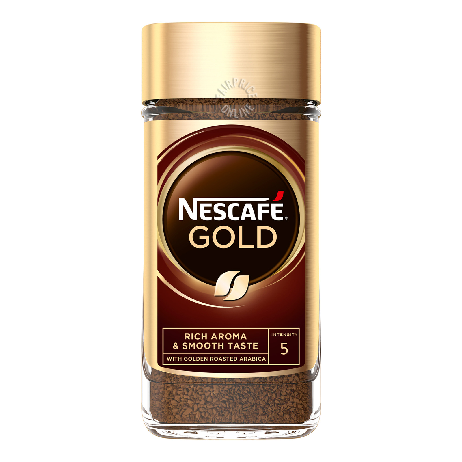 Nescafe Gold Instant Arabica Ground Coffee - Rich & Smooth