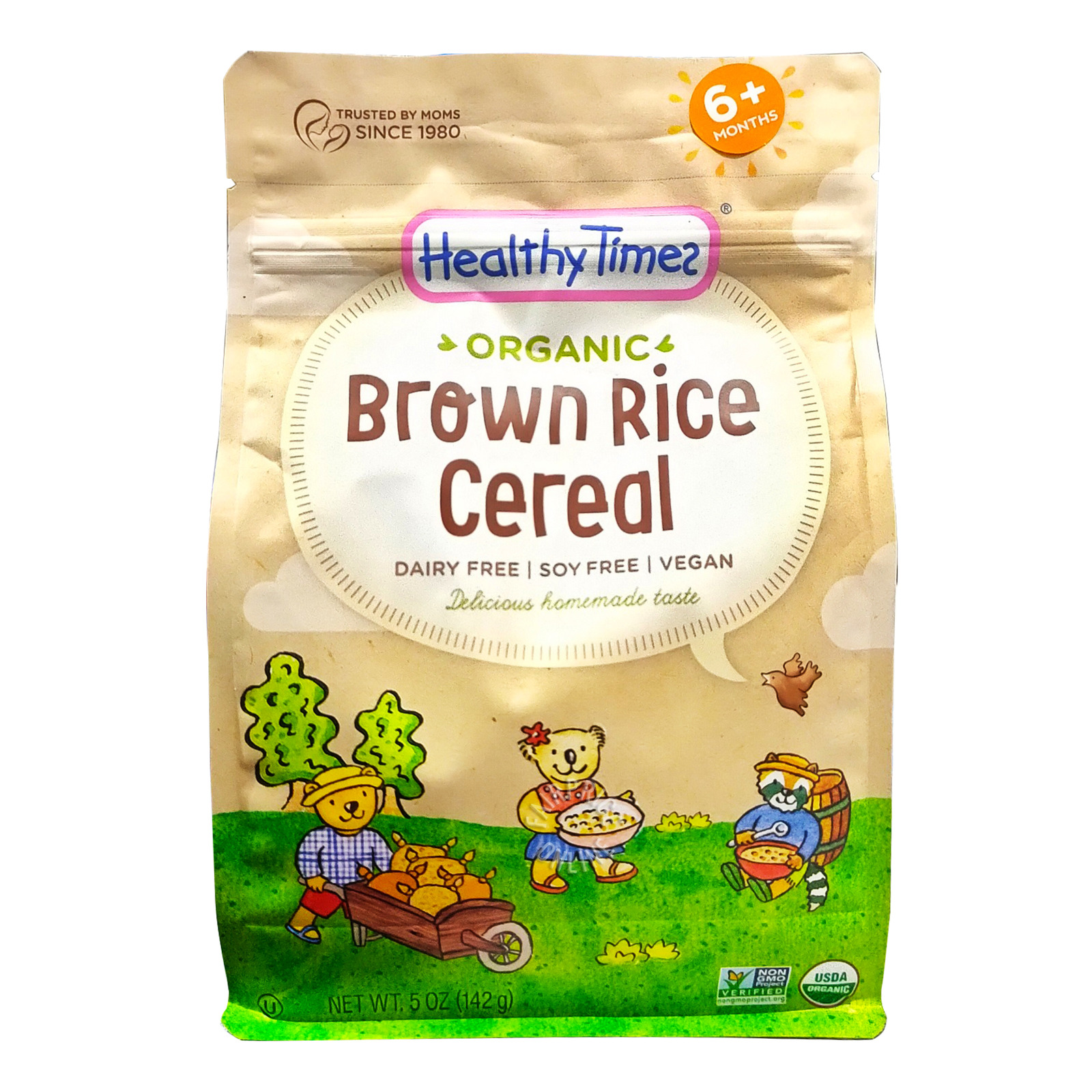 Healthy Times Organic Cereal - Brown Rice