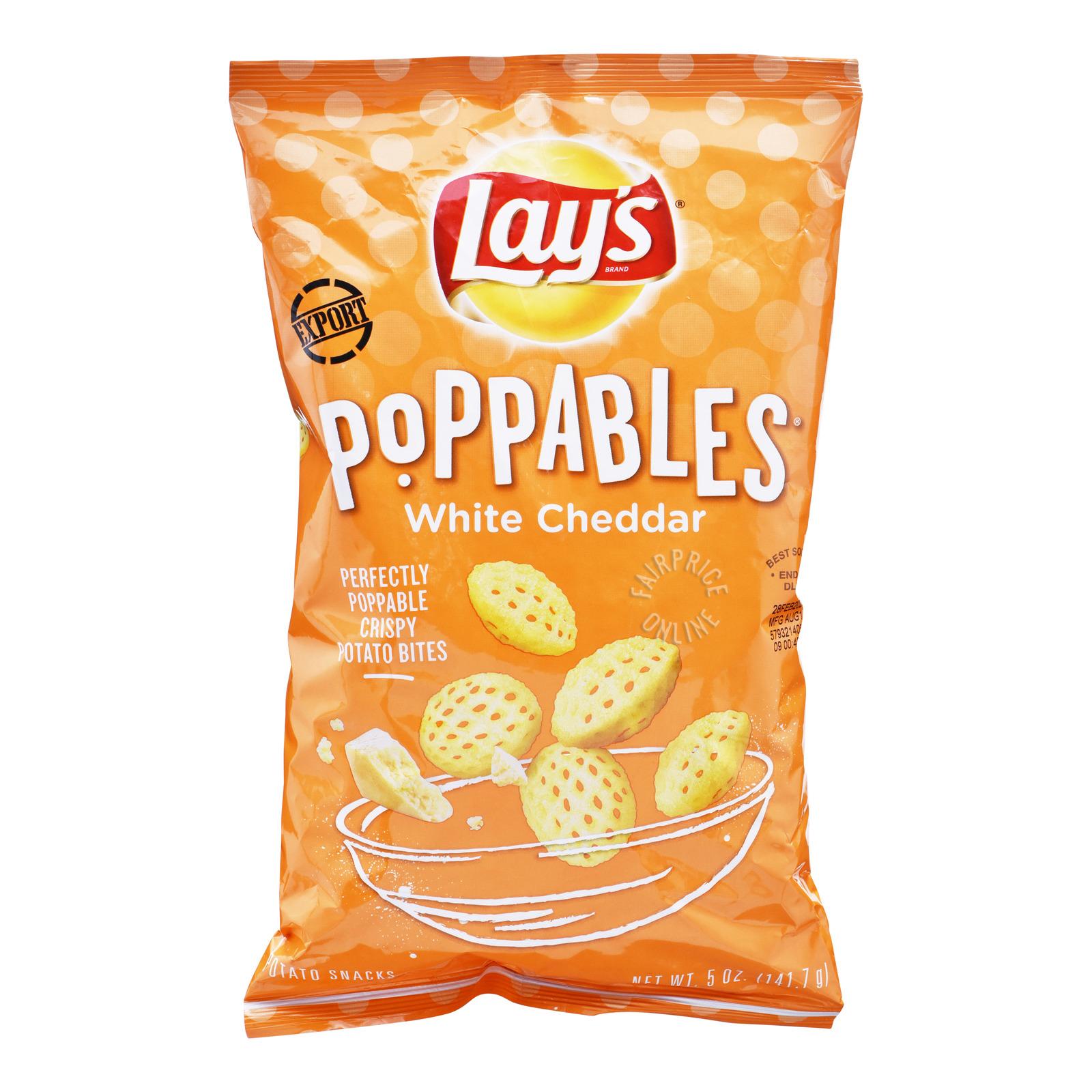 Lay's Poppables Potato Bites - White Cheddar