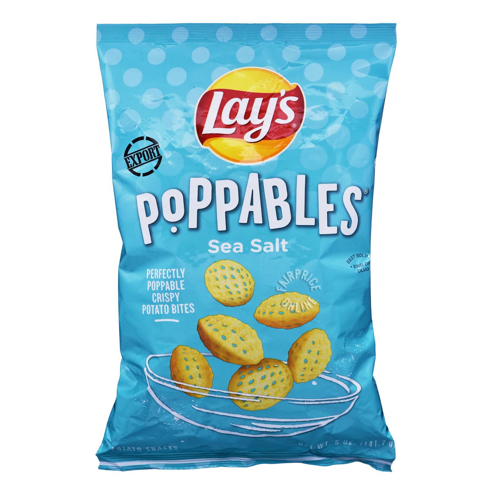 Lay's Poppables Potato Bites - Sea Salt