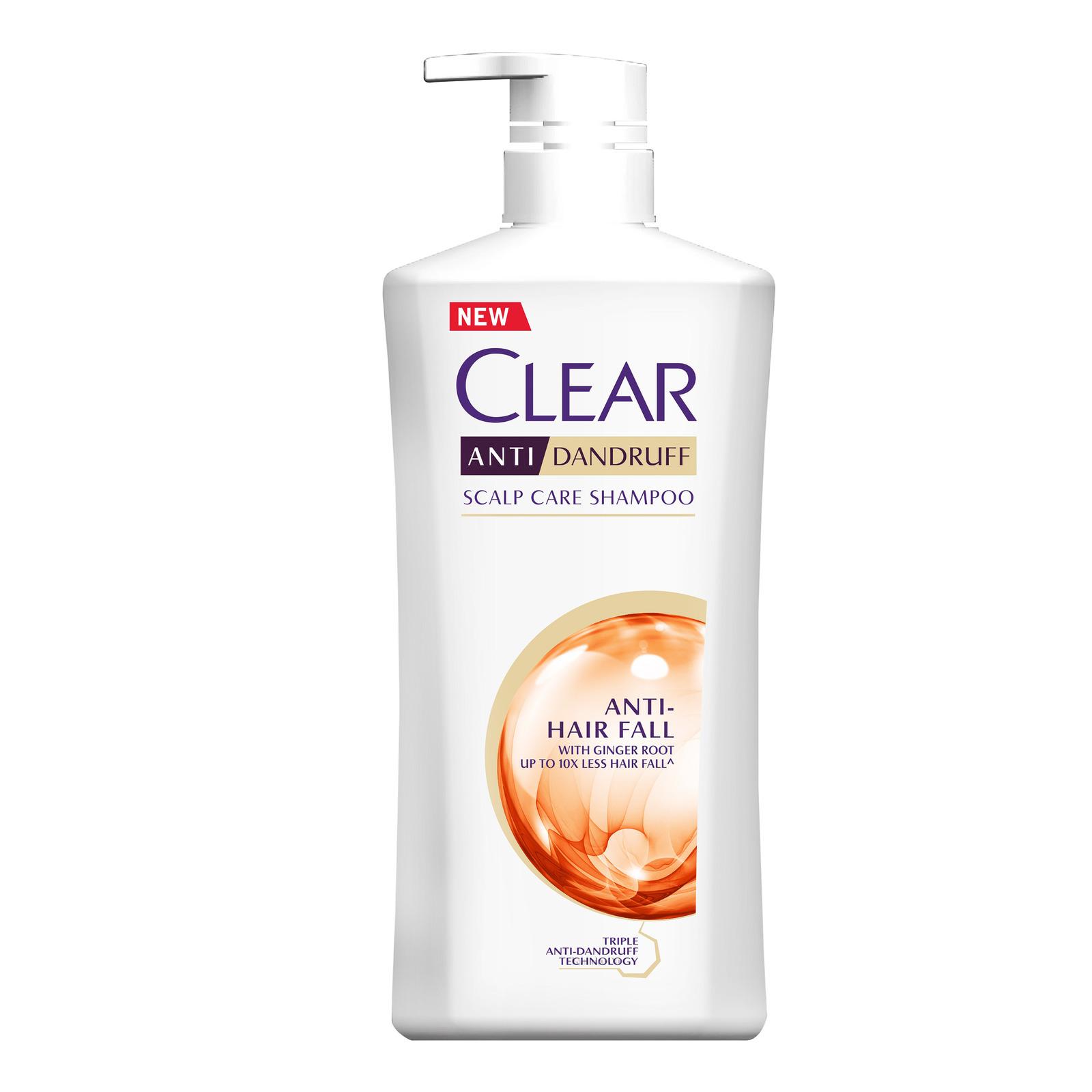 Clear Anti-Dandruff Scalp Care Shampoo - Anti-Hair Fall