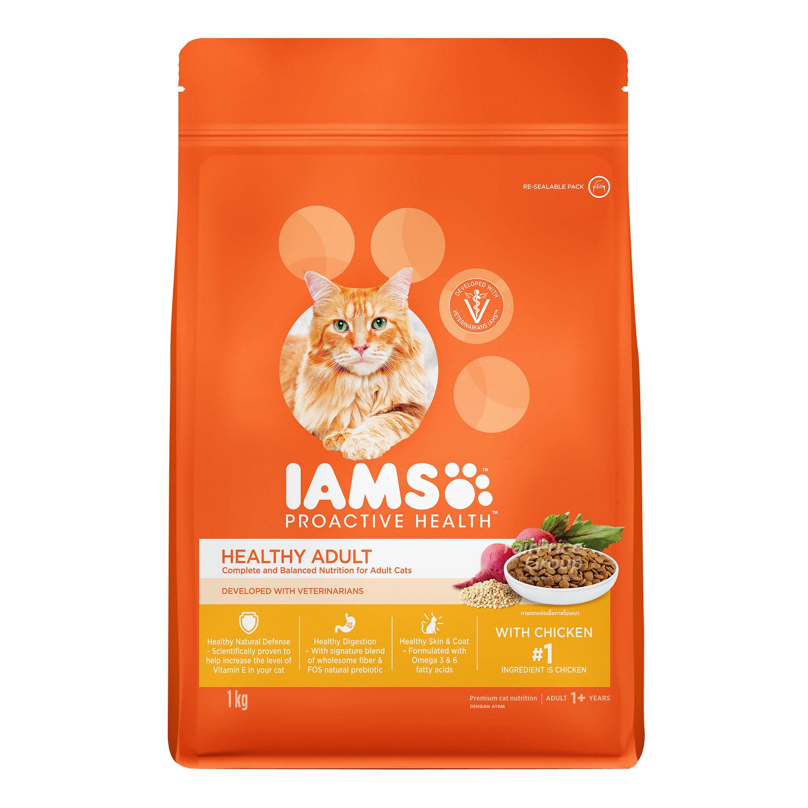 IAMS ProActive Health Adult Cat Dry Food - Chicken