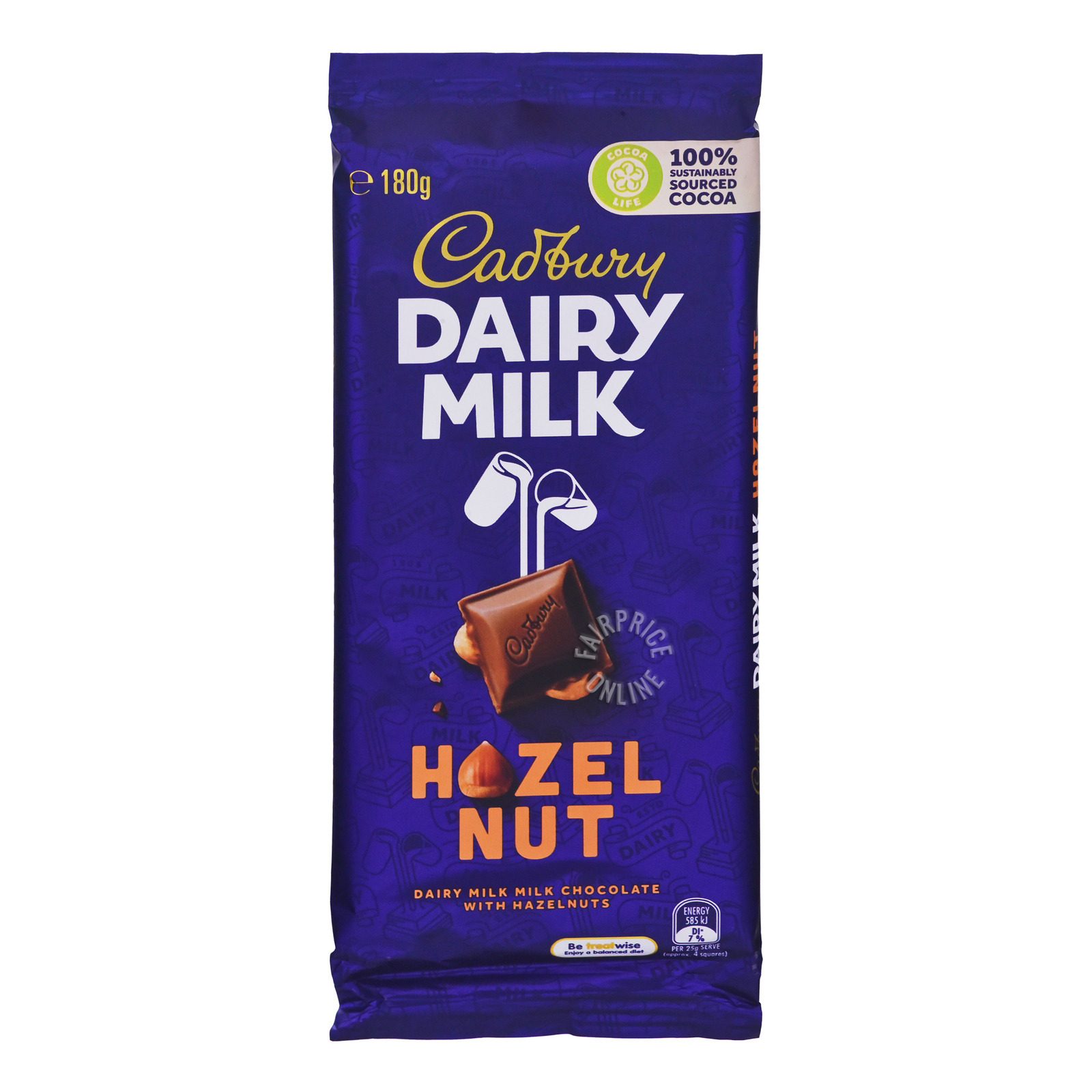 Cadbury Dairy Milk Chocolate Block - Hazelnut