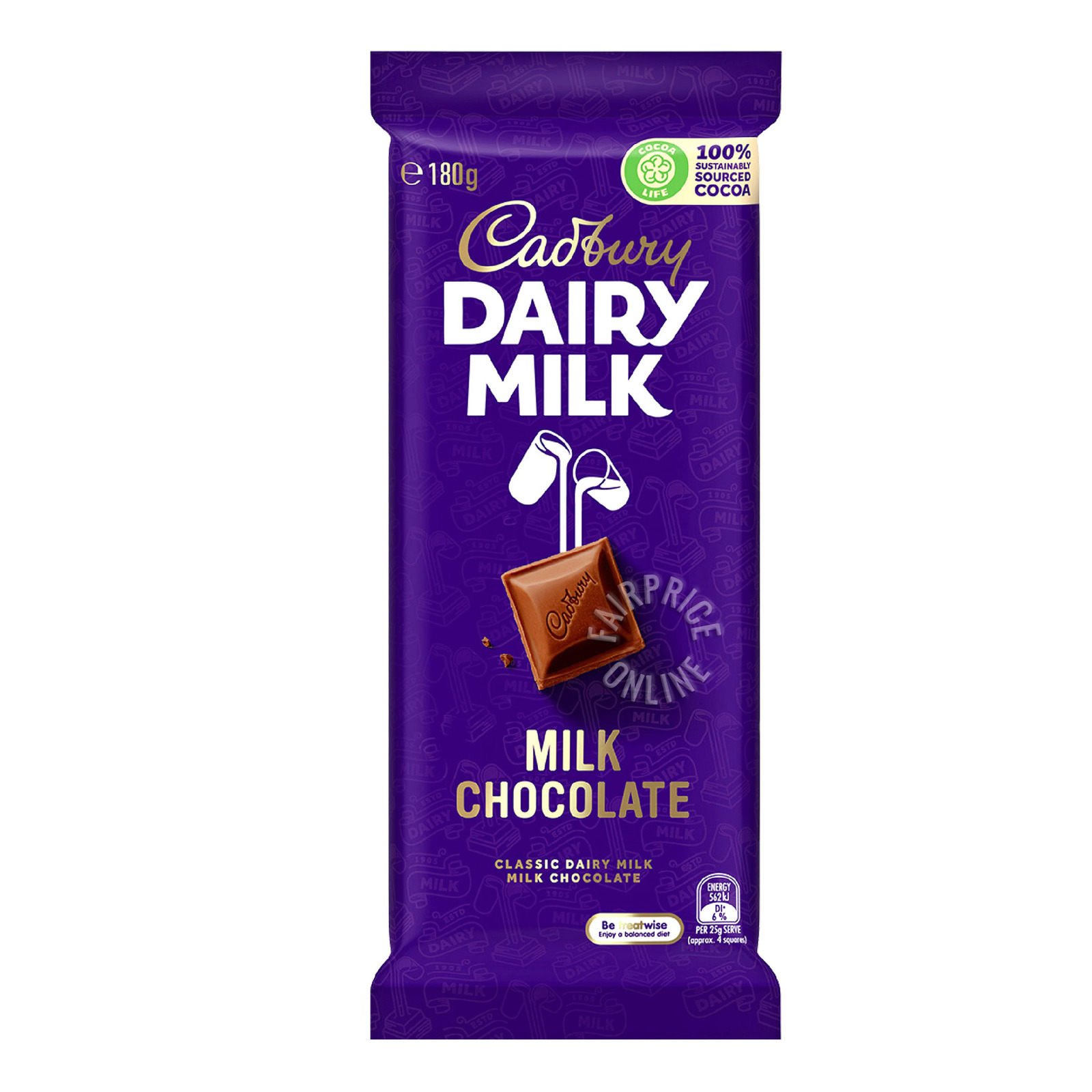 Cadbury Dairy Milk Fruit and Nut Milk Chocolate Block